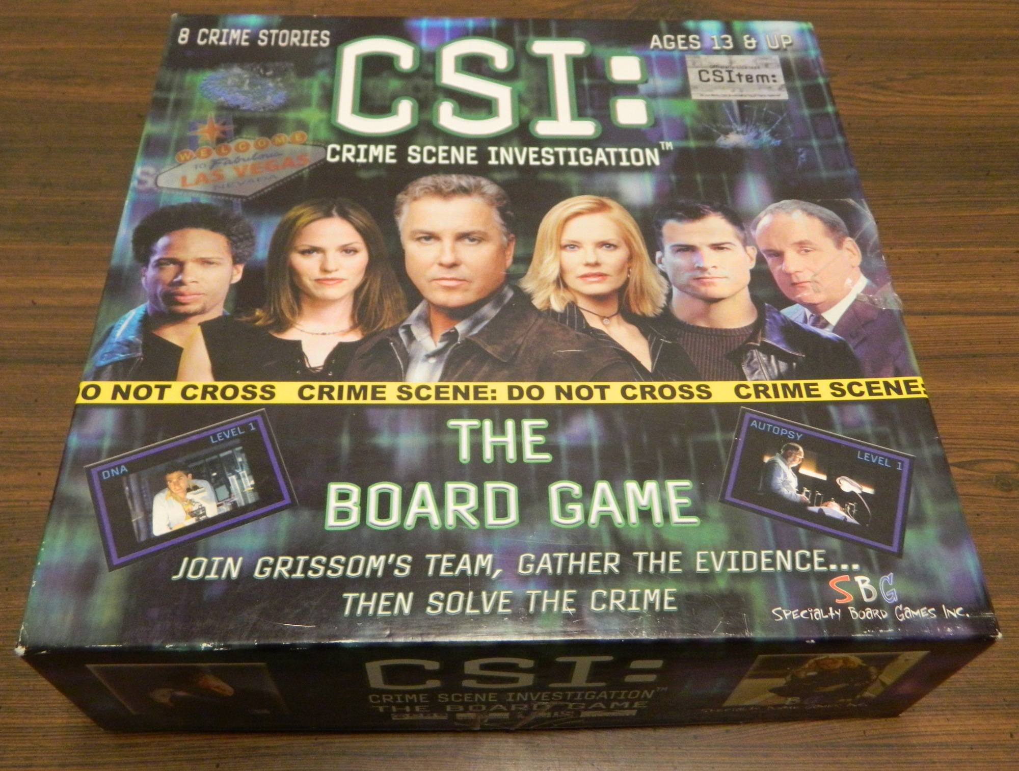 Csi: crime scene investigation the board game board game review.