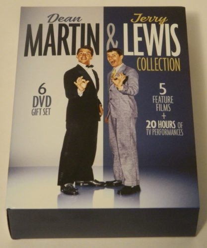 Dean Martin & Jerry Lewis Collection DVD Review