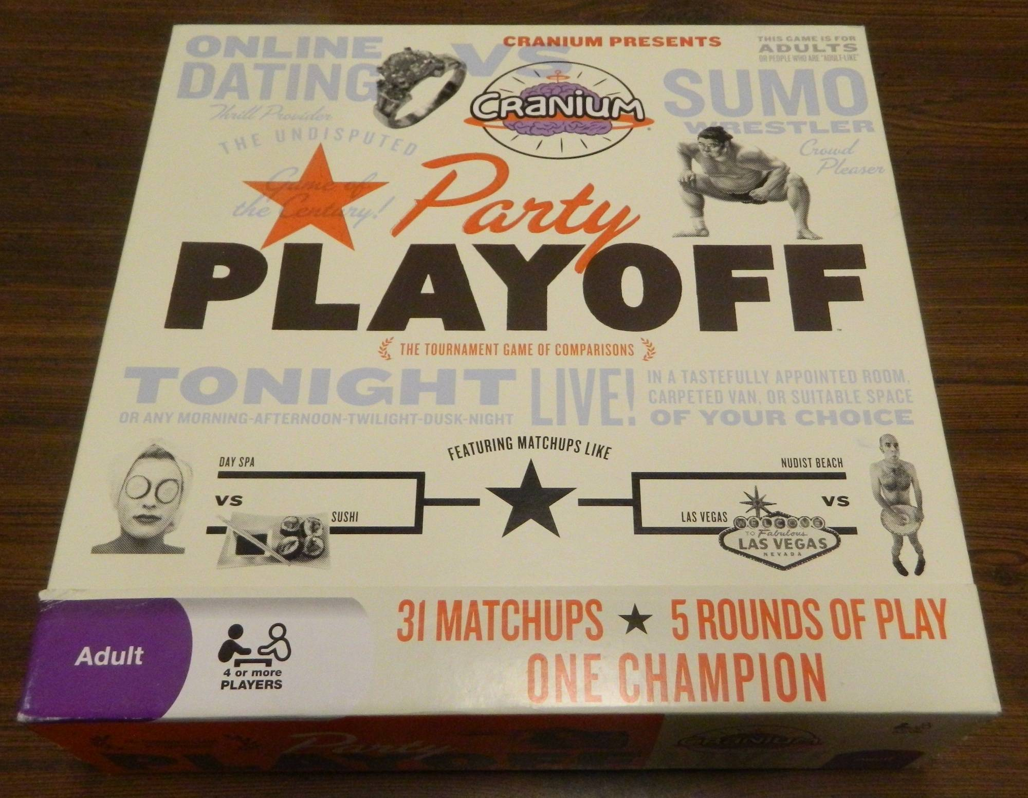 Box for Party Playoff