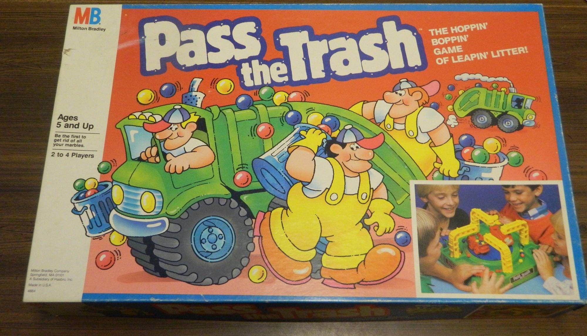 Box for Pass the Trash
