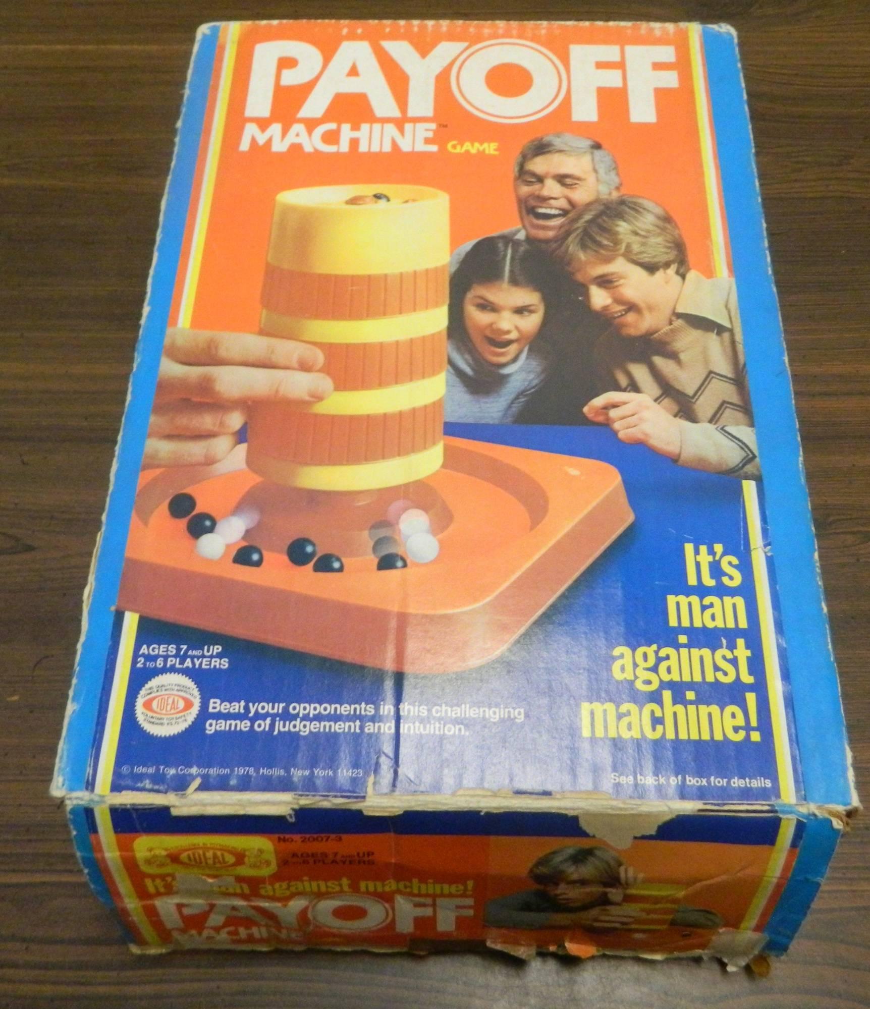 Box for Payoff Machine