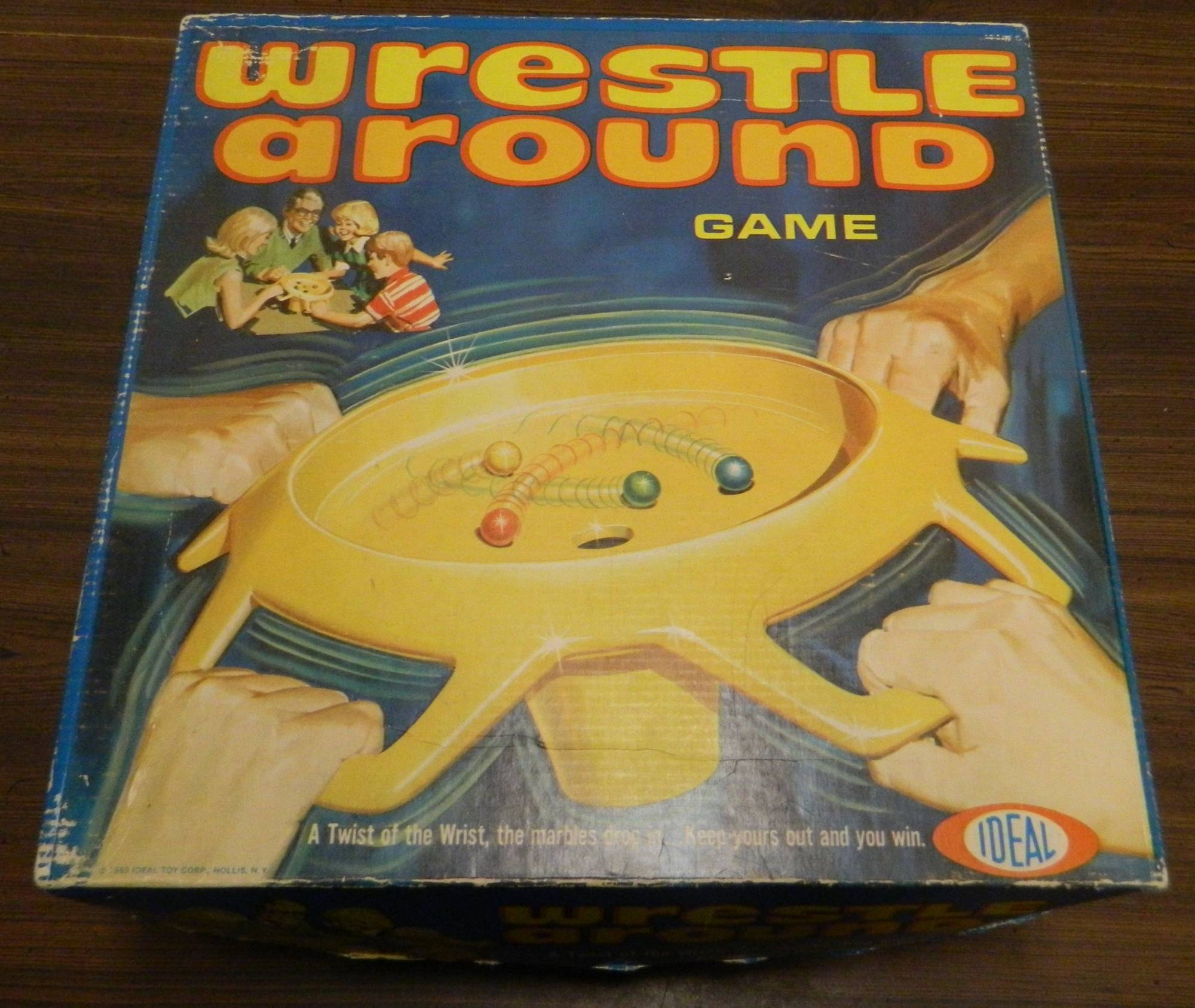 Box for Wrestle Around