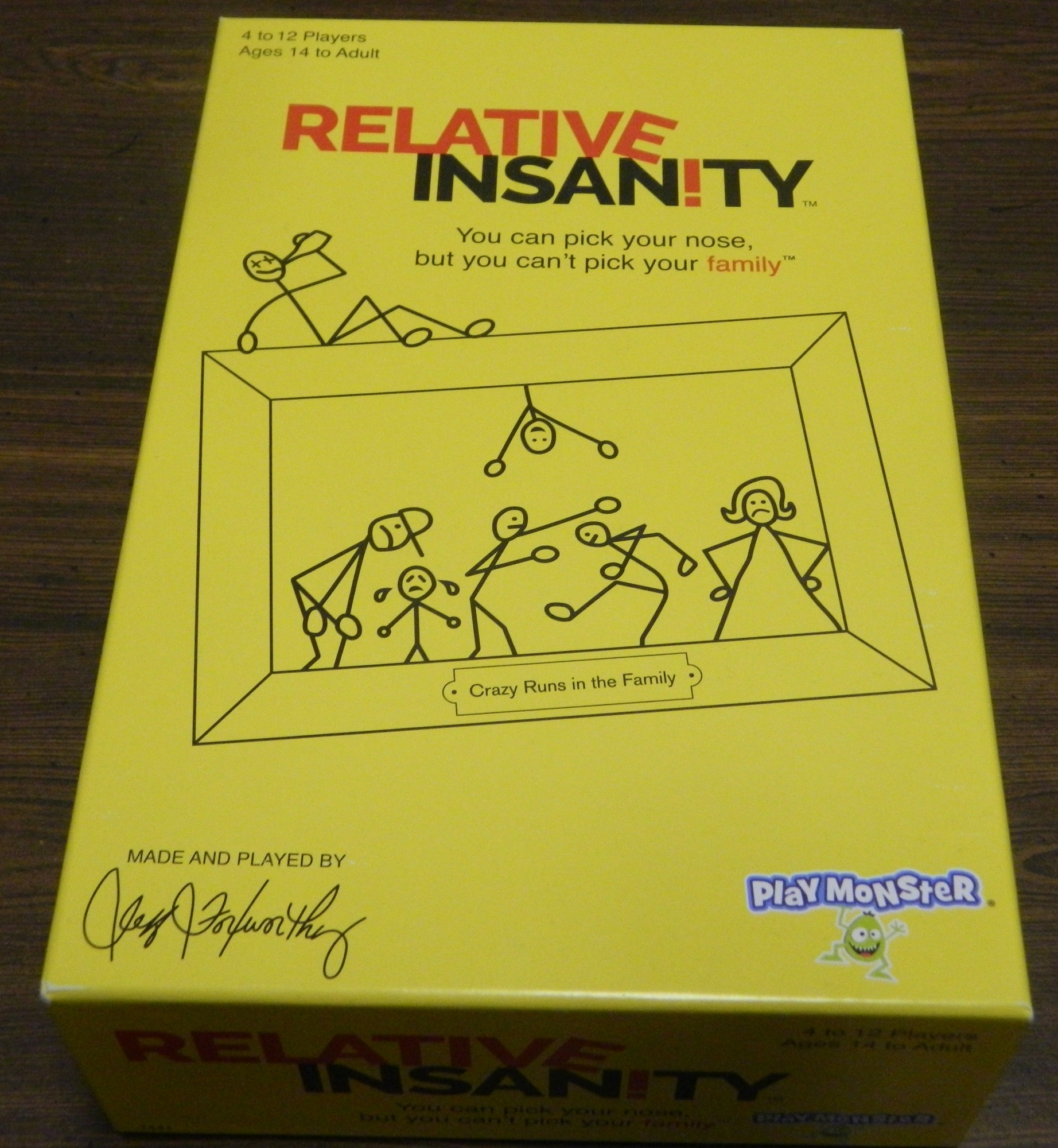 Box for Relative Insanity