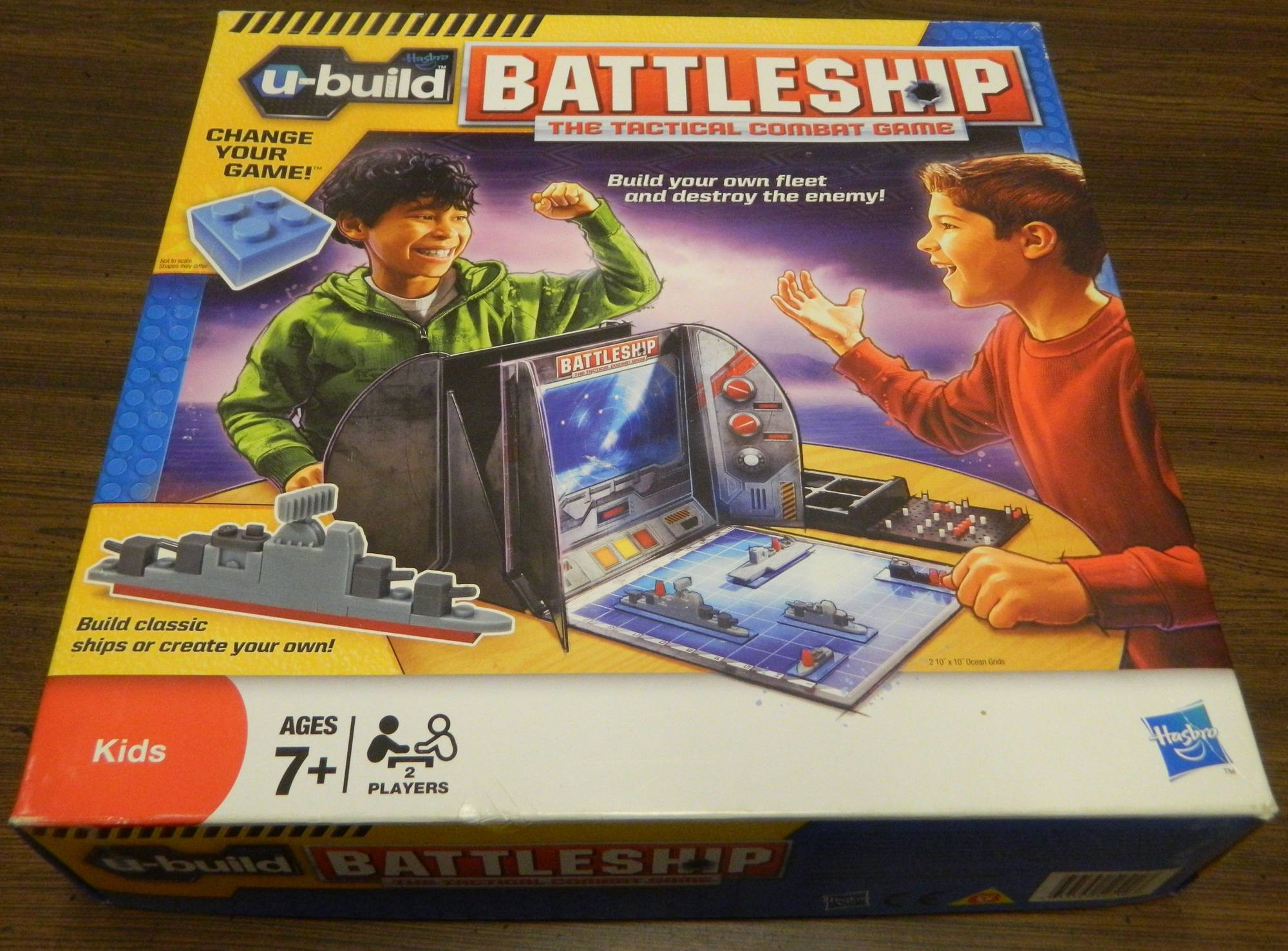 Box for U-Build Battleship