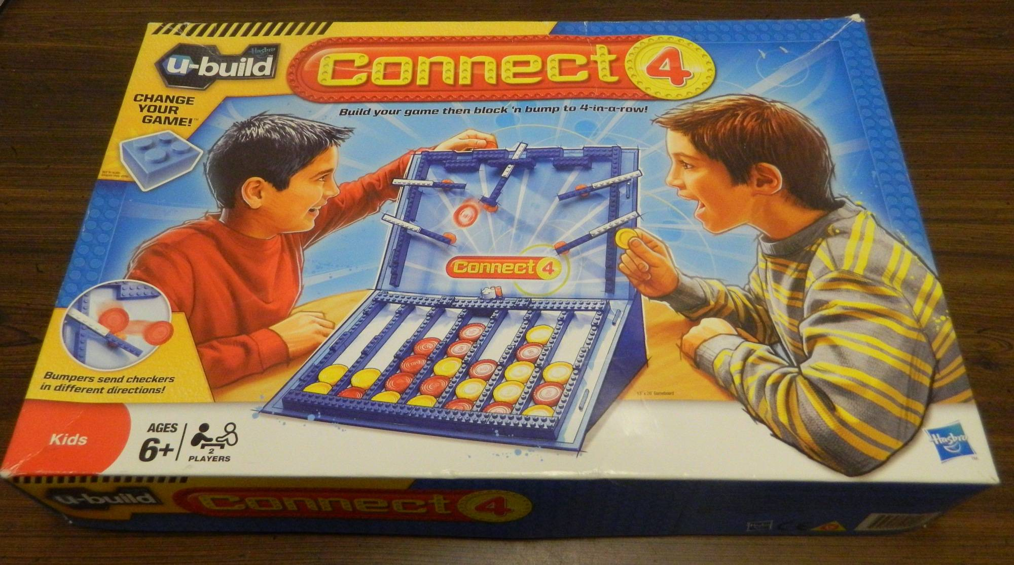 Box for U-Build Connect 4