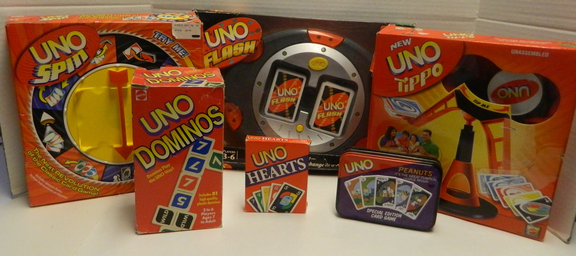 UNO Games: The Complete List of All Themed Decks and Spinoffs ...