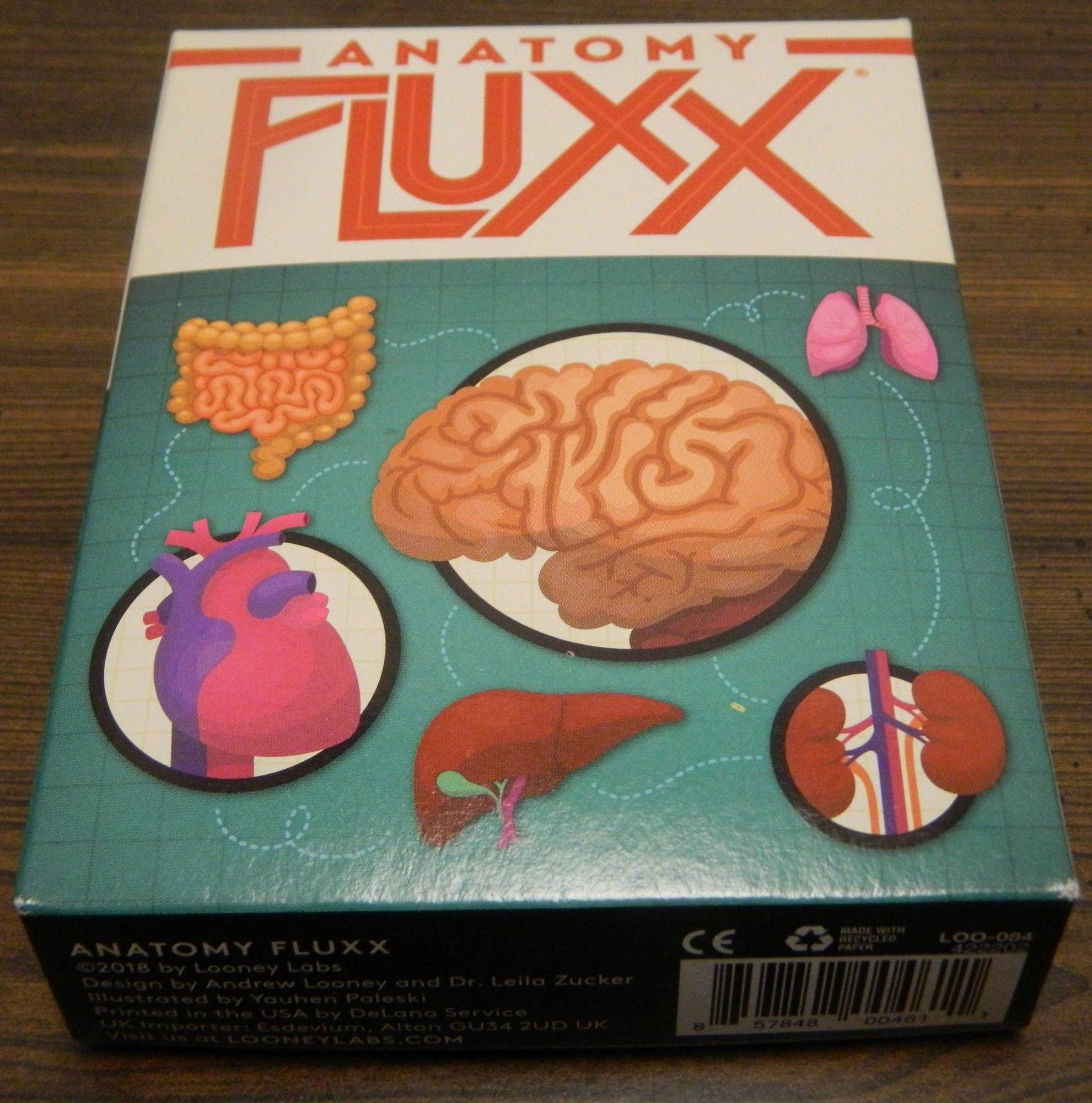 Anatomy Fluxx Card Game Review And Rules Geeky Hobbies