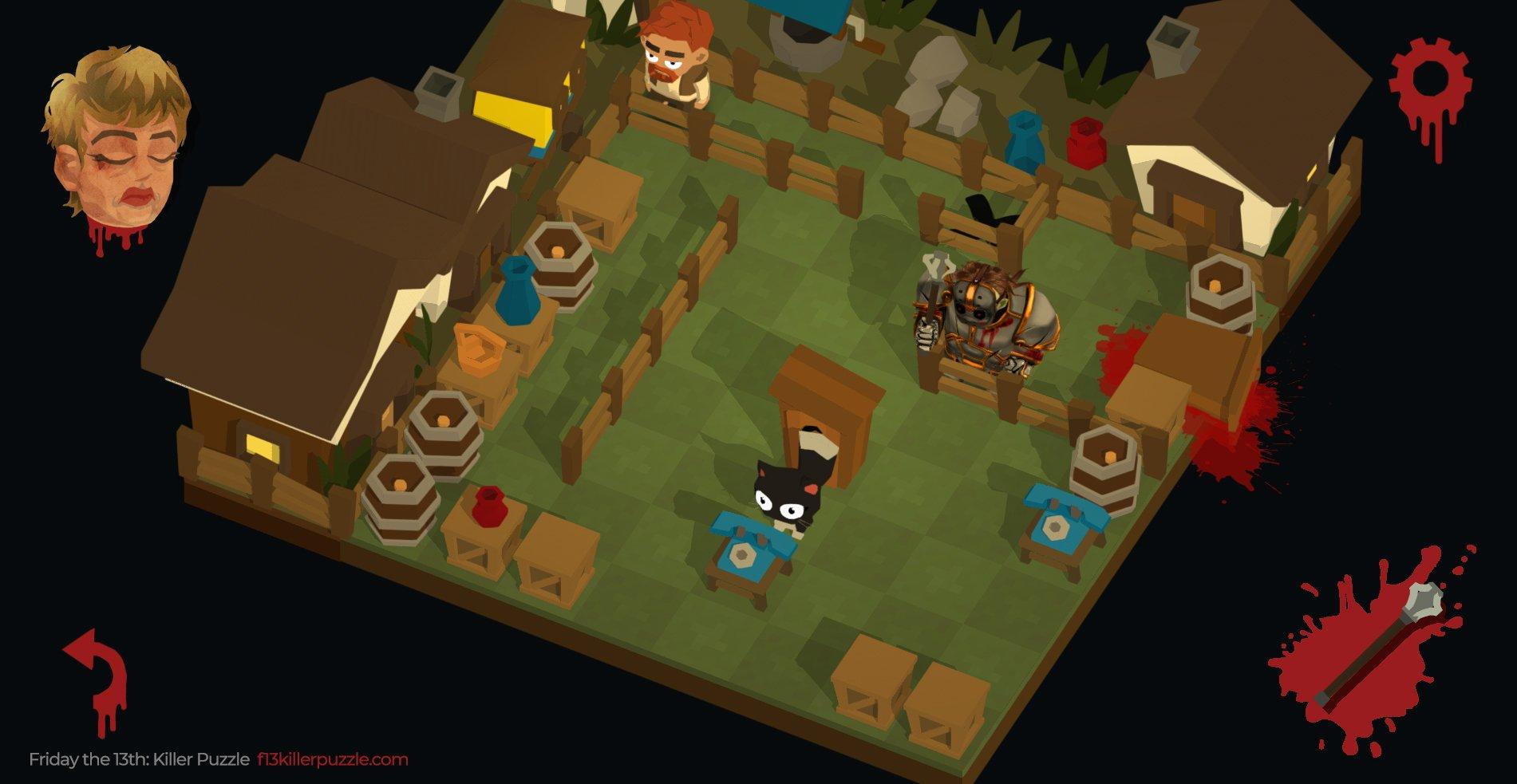 Friday The 13: Killer Puzzle Screenshot