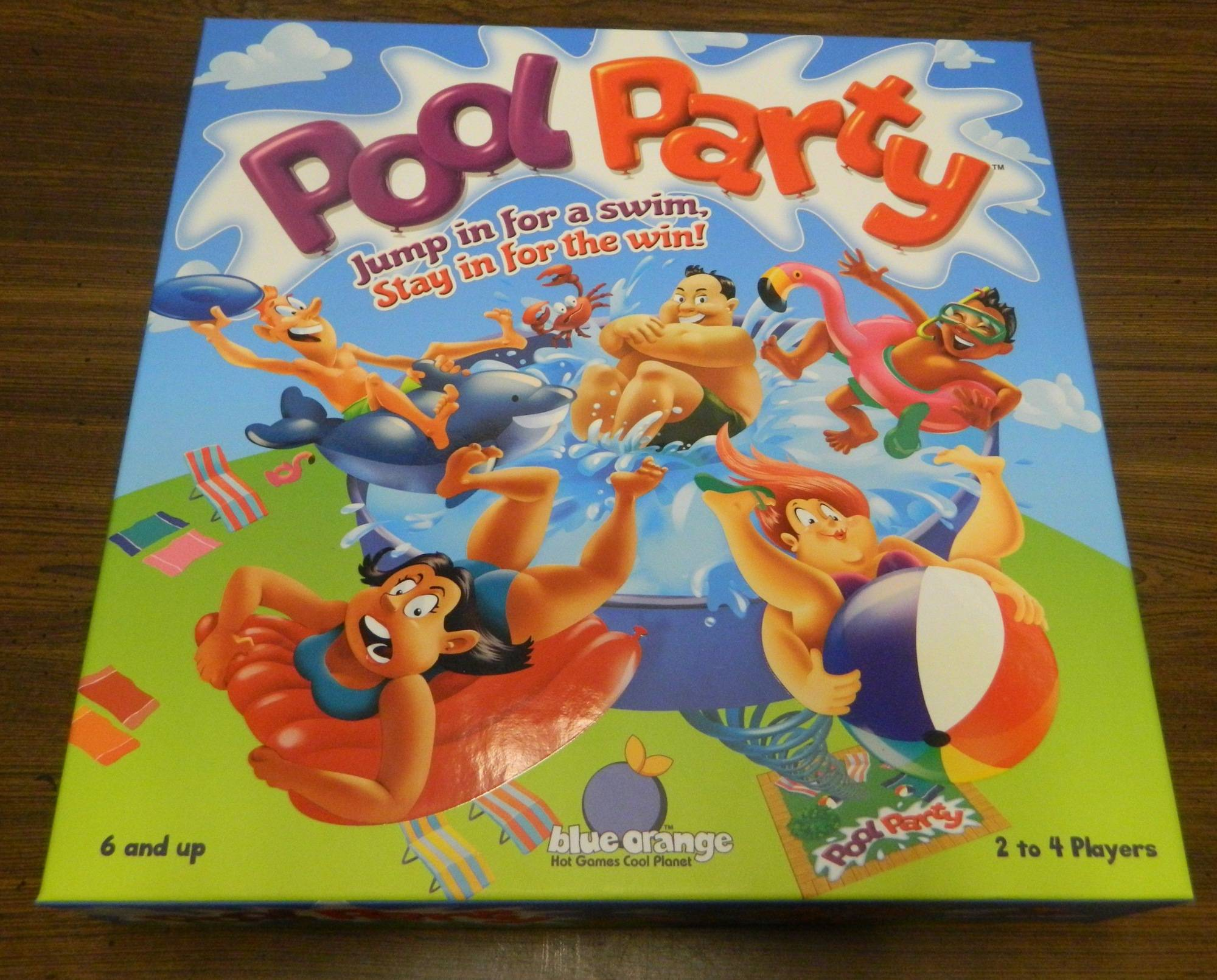 Box for Pool Party
