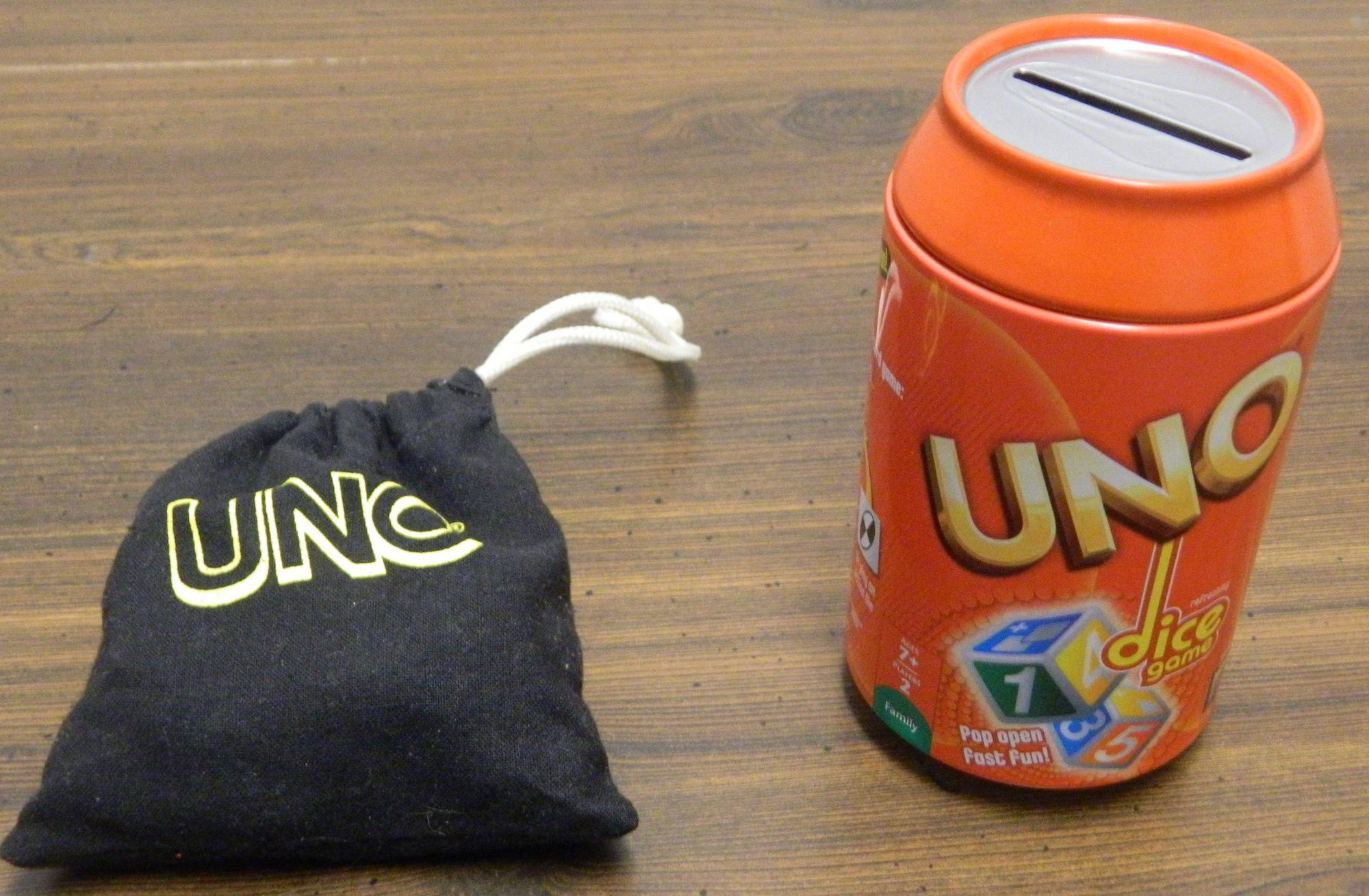 Box for UNO Dice