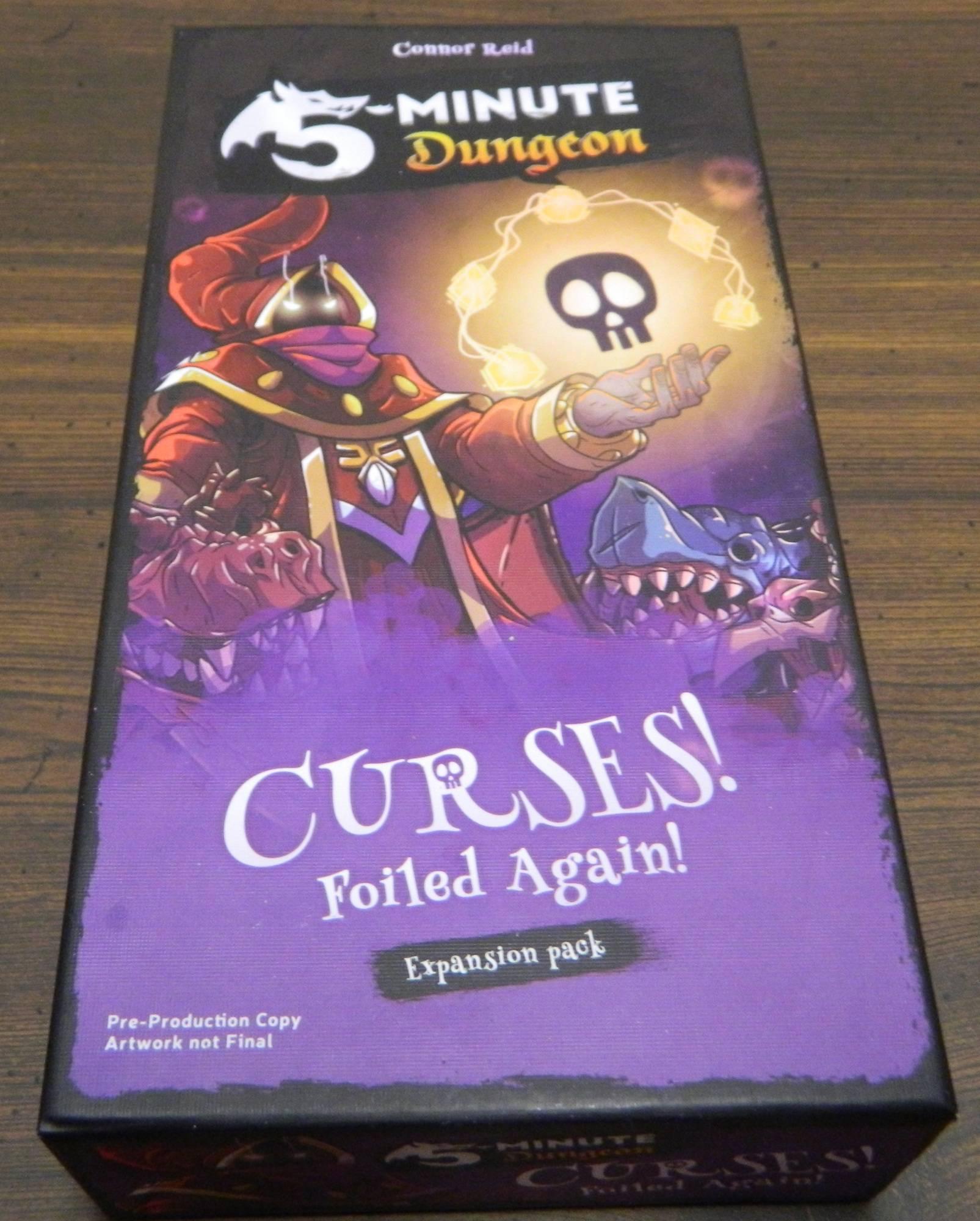 5-Minute Dungeon Curses! Foiled Again! Box