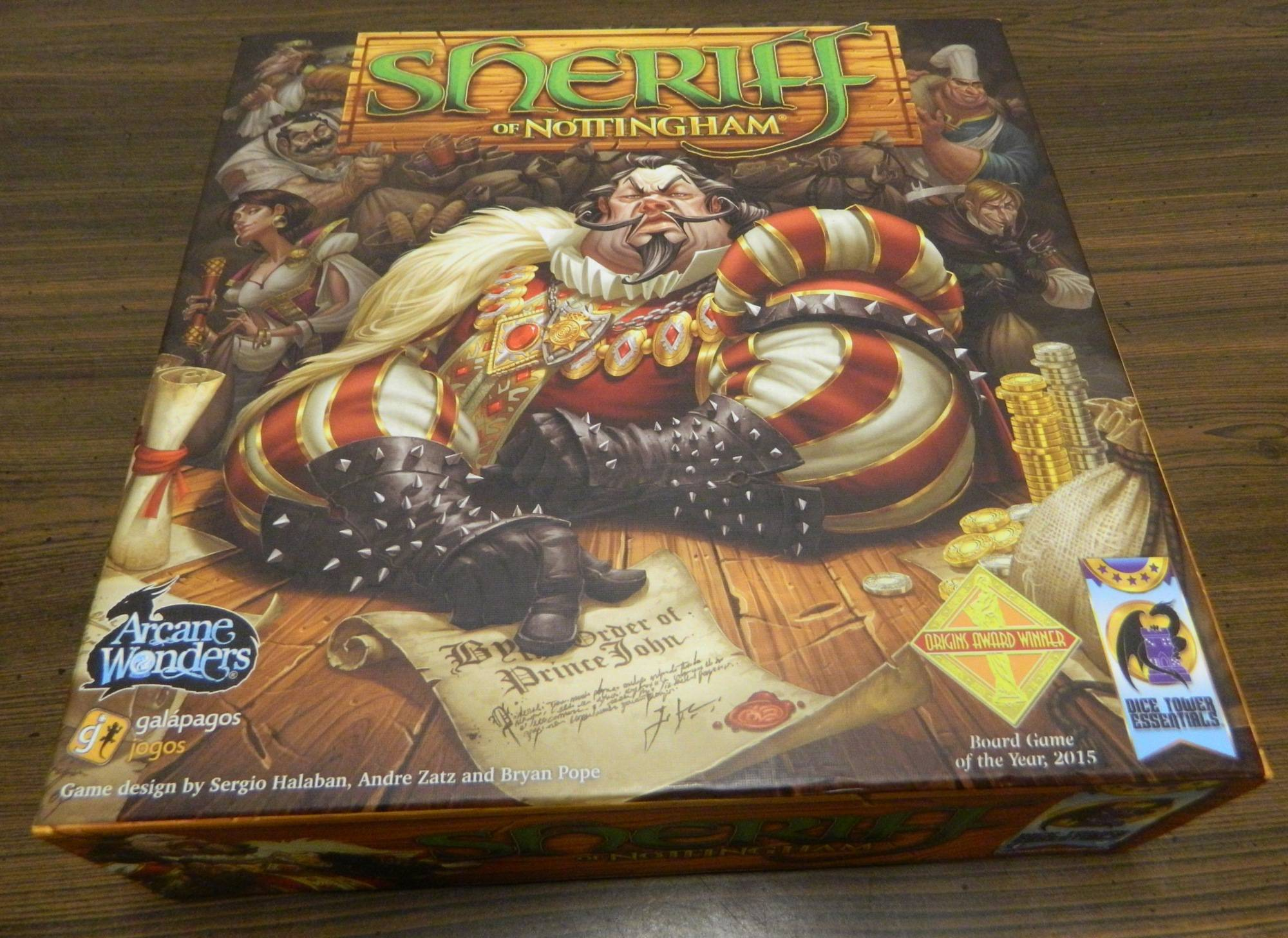 Box for Sheriff of Nottingham