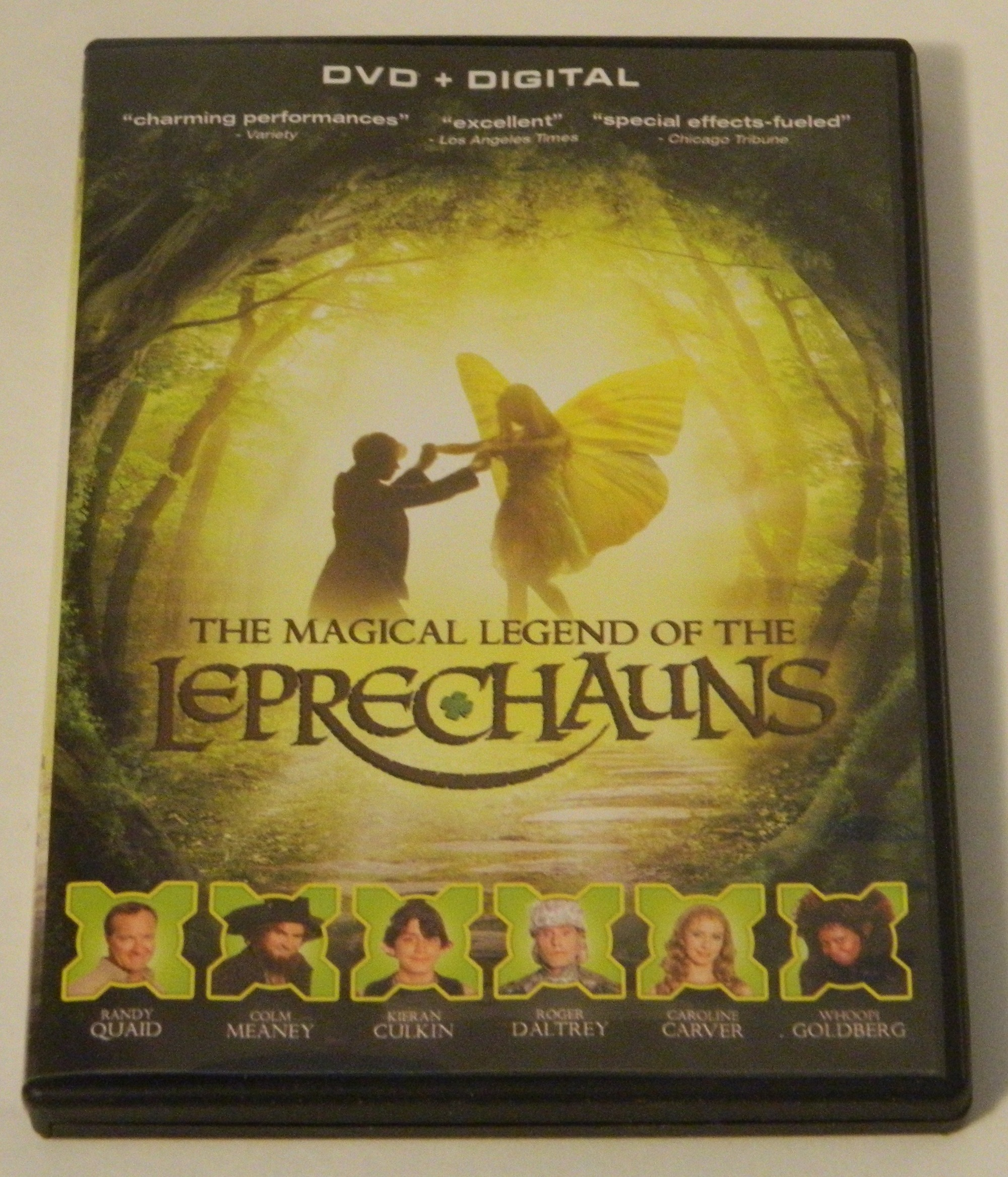 The Magical Legend of the Leprechauns DVD