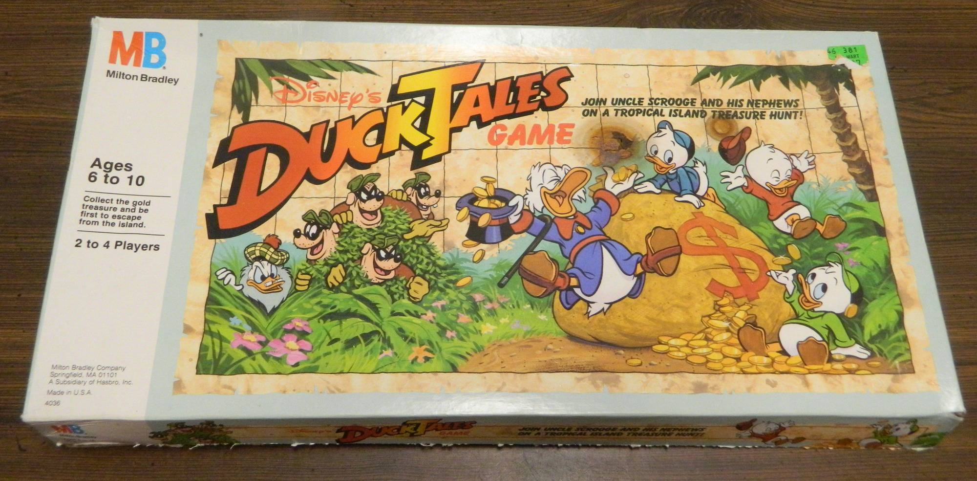 Box for DuckTales Game
