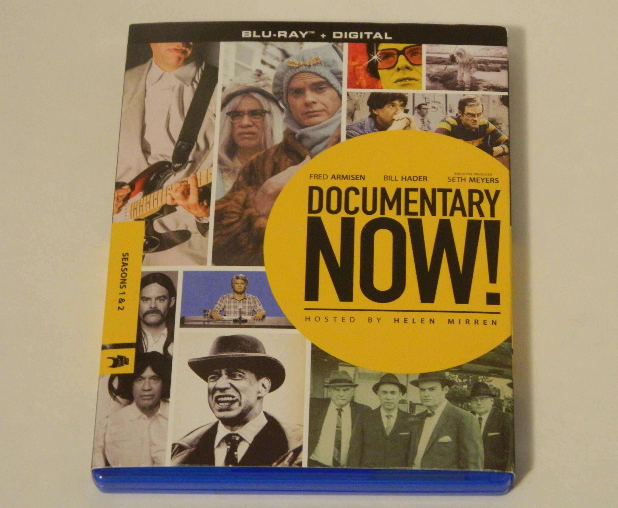 Documentary Now Seasons 1 and 2 Blu-ray