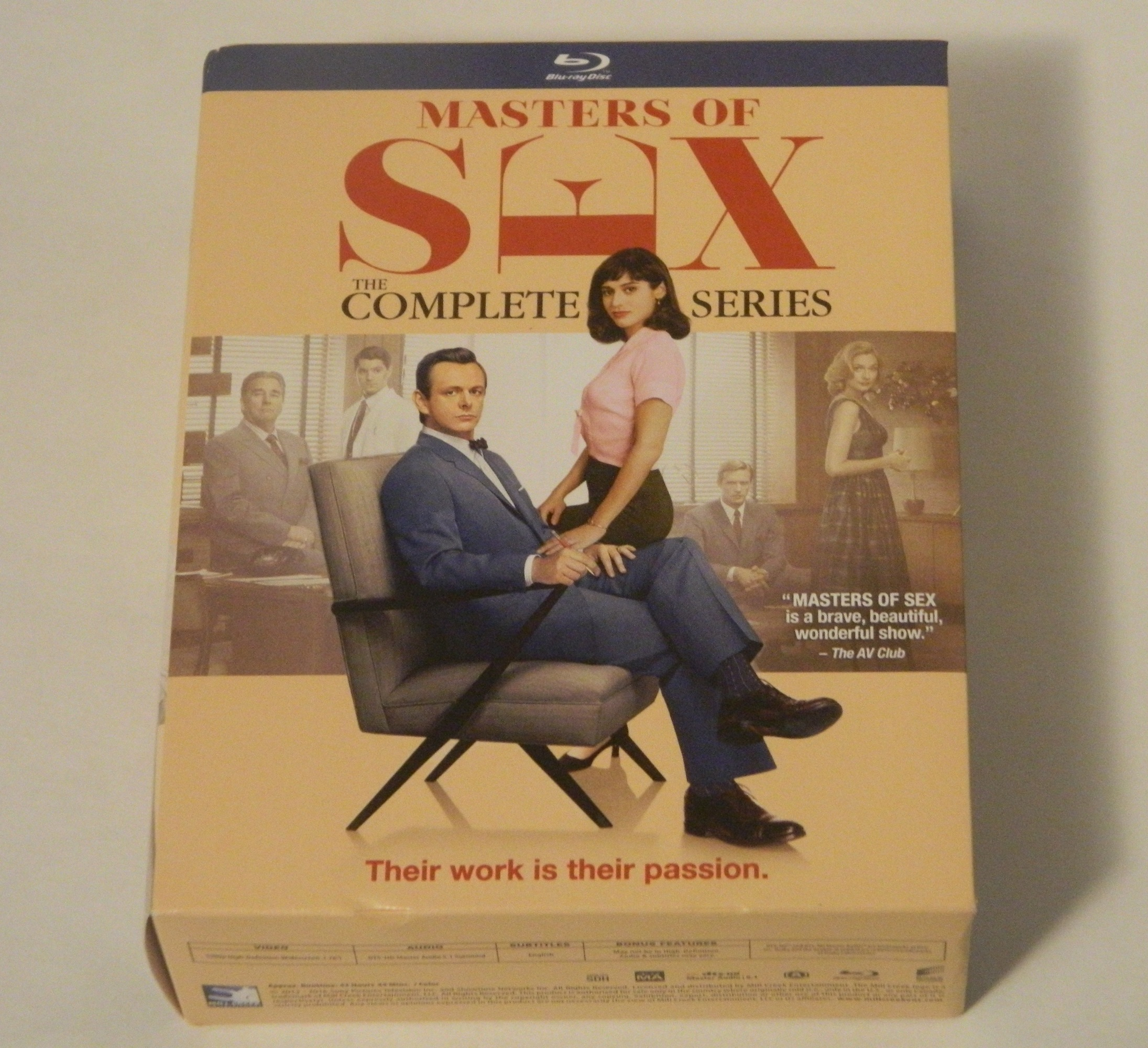 Masters of Sex The Complete Series Blu-ray