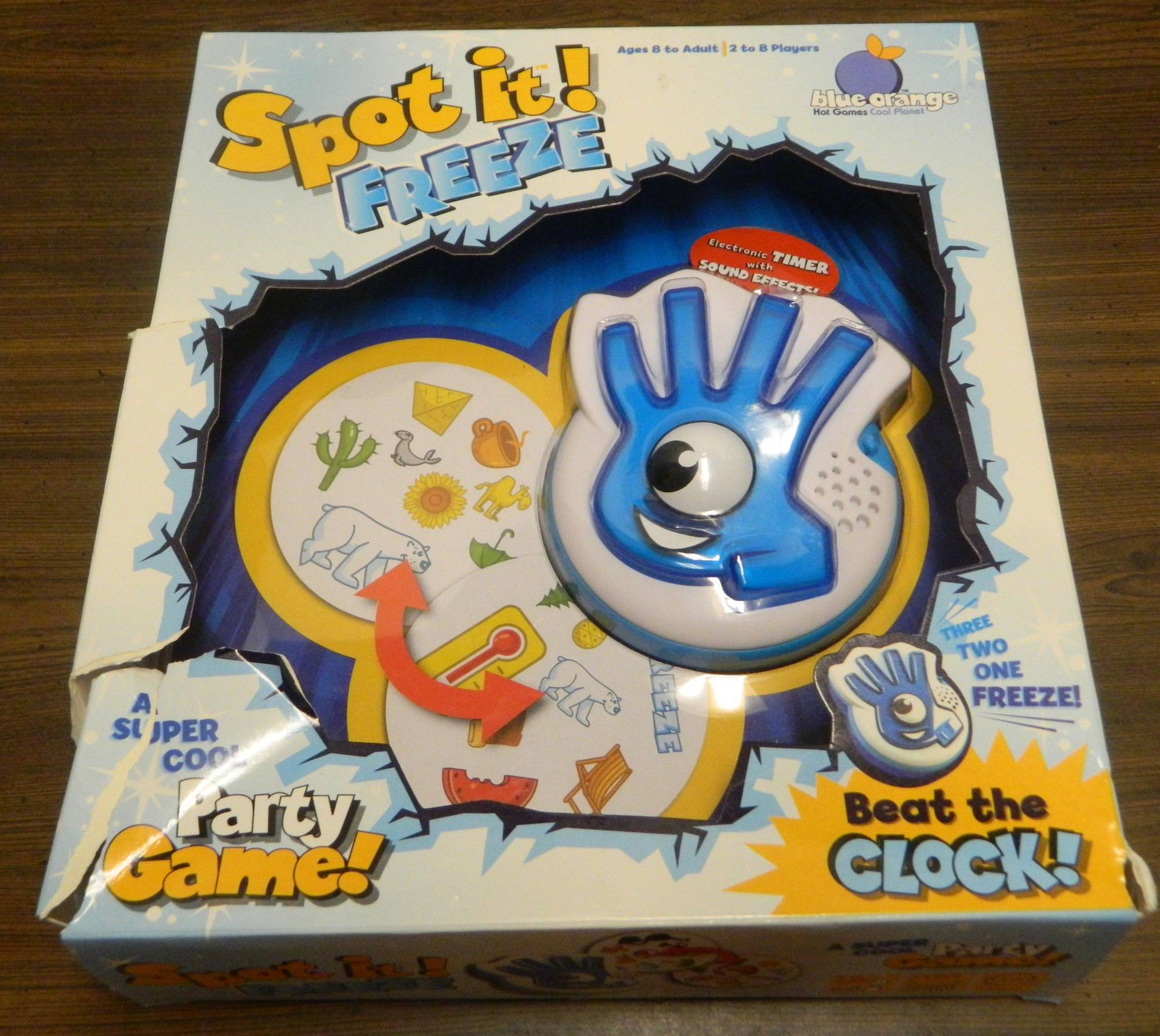 Box for Spot it! Freeze