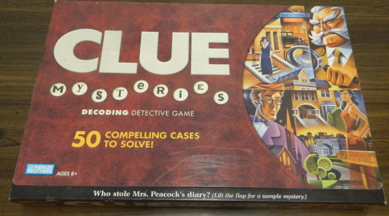 Box for Clue Mysteries