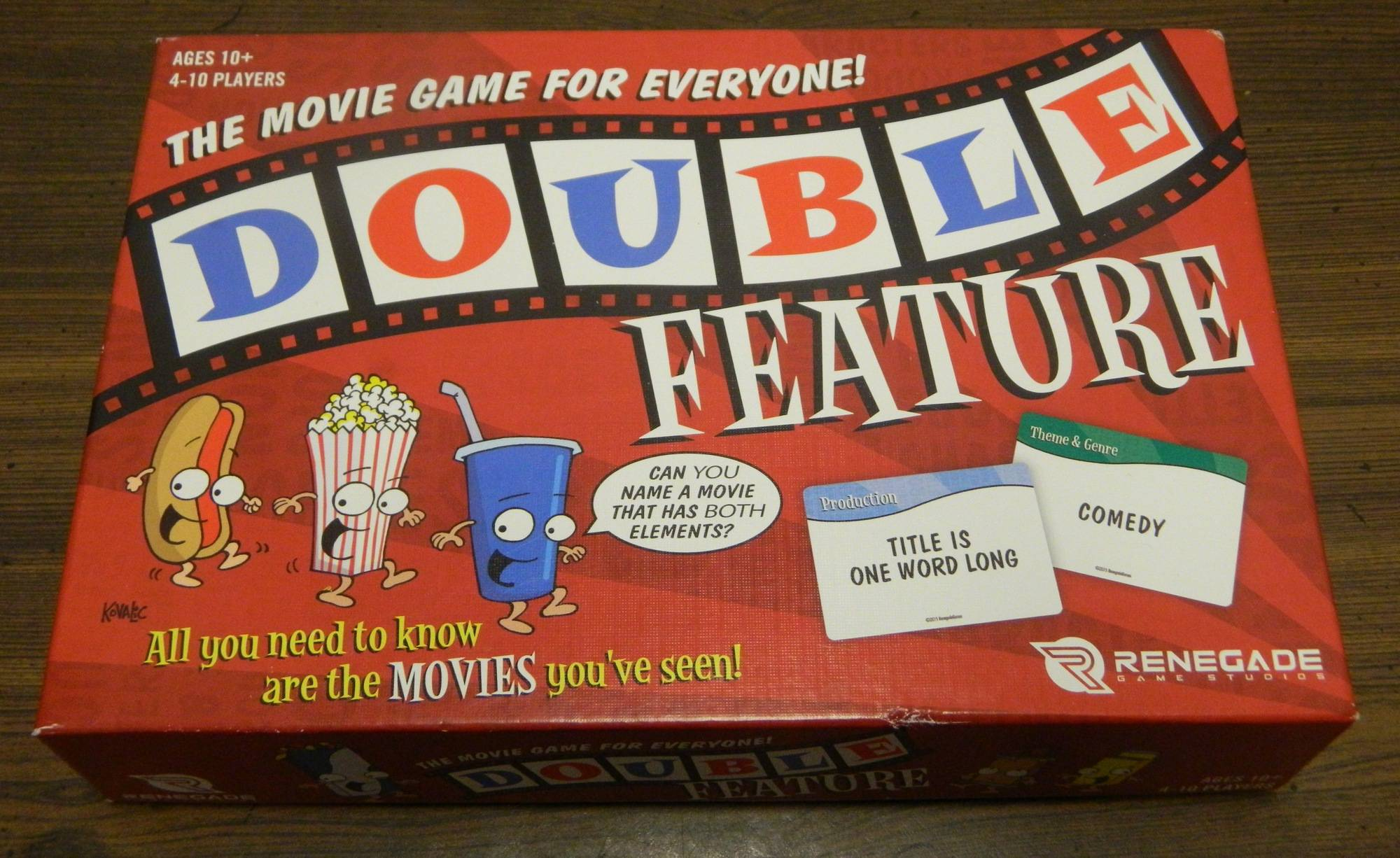 Box for Double Features