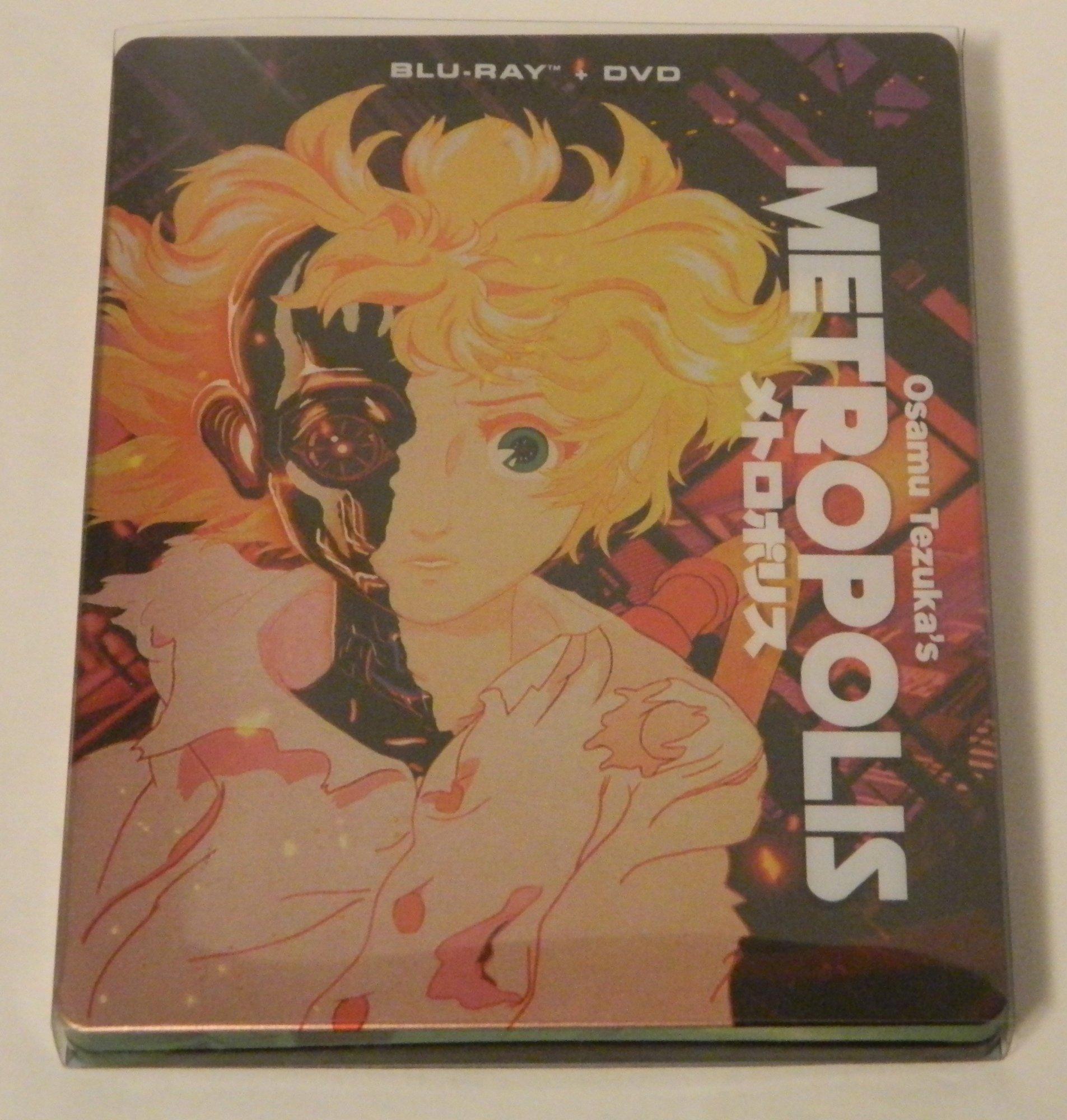 Metropolis Steelbook Blu-ray