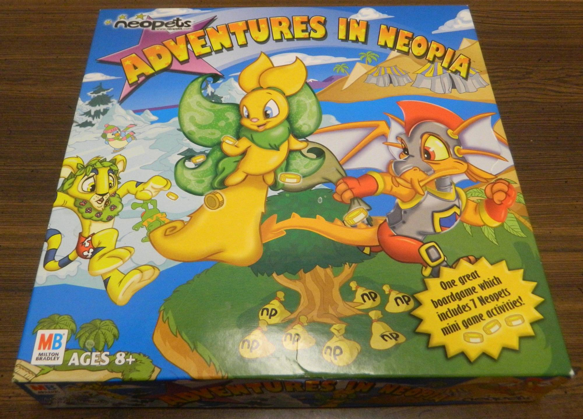 Box for Neopets Adventures in Neopia