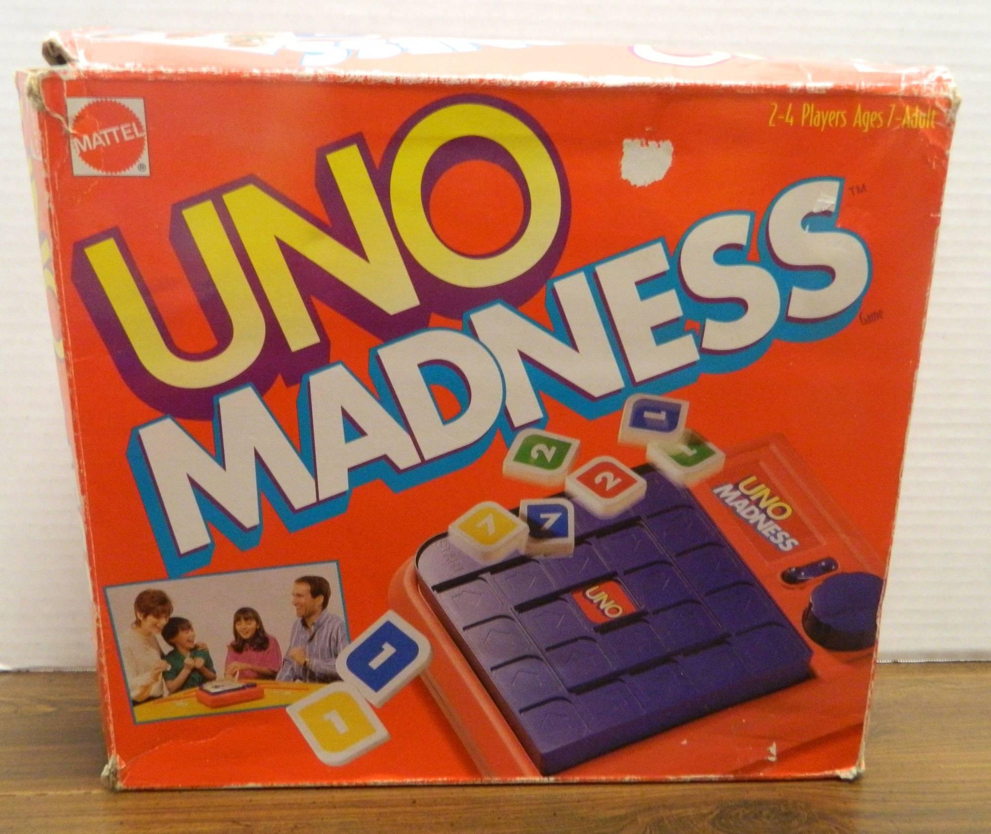Unos Board Game