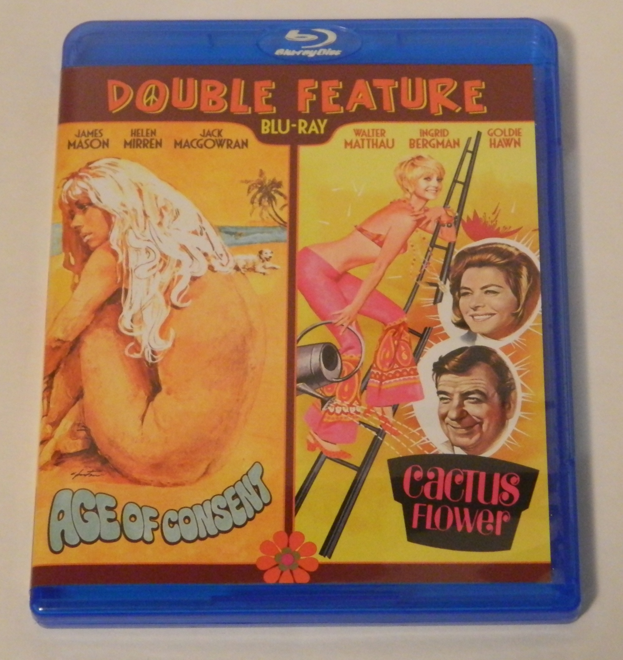 Age of Consent Cactus Flower Double Feature Blu-ray