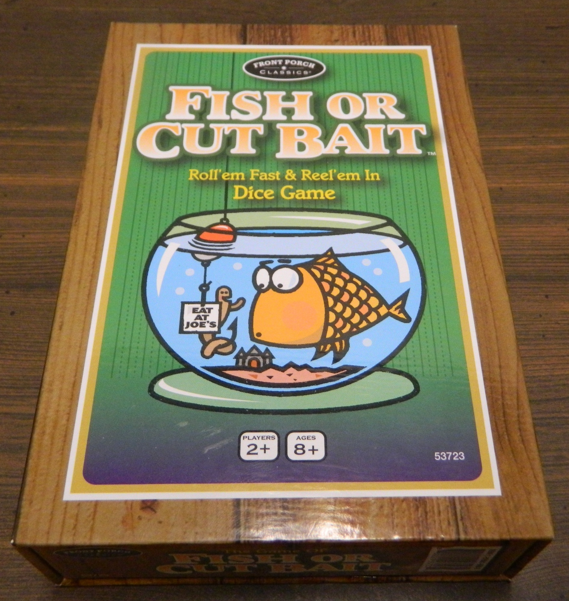 Box for Fish or Cut Bait