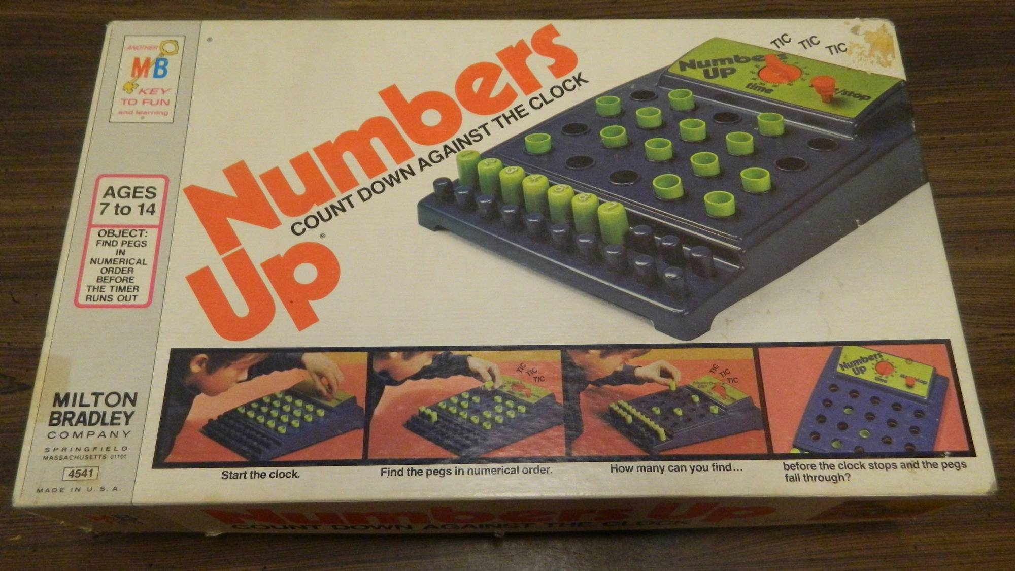Box for Numbers Up