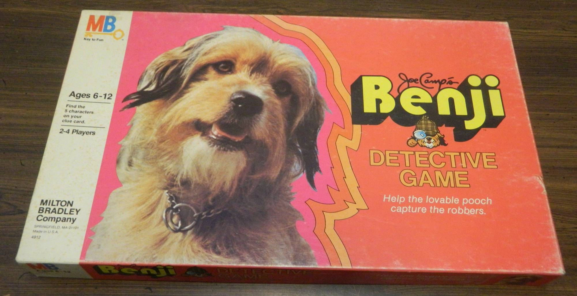 Box for the Benji Detective Game