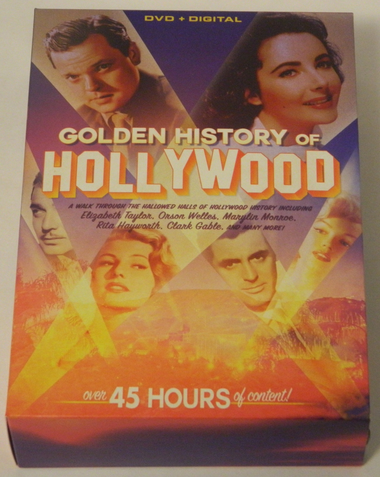 Golden History of Hollywood DVD