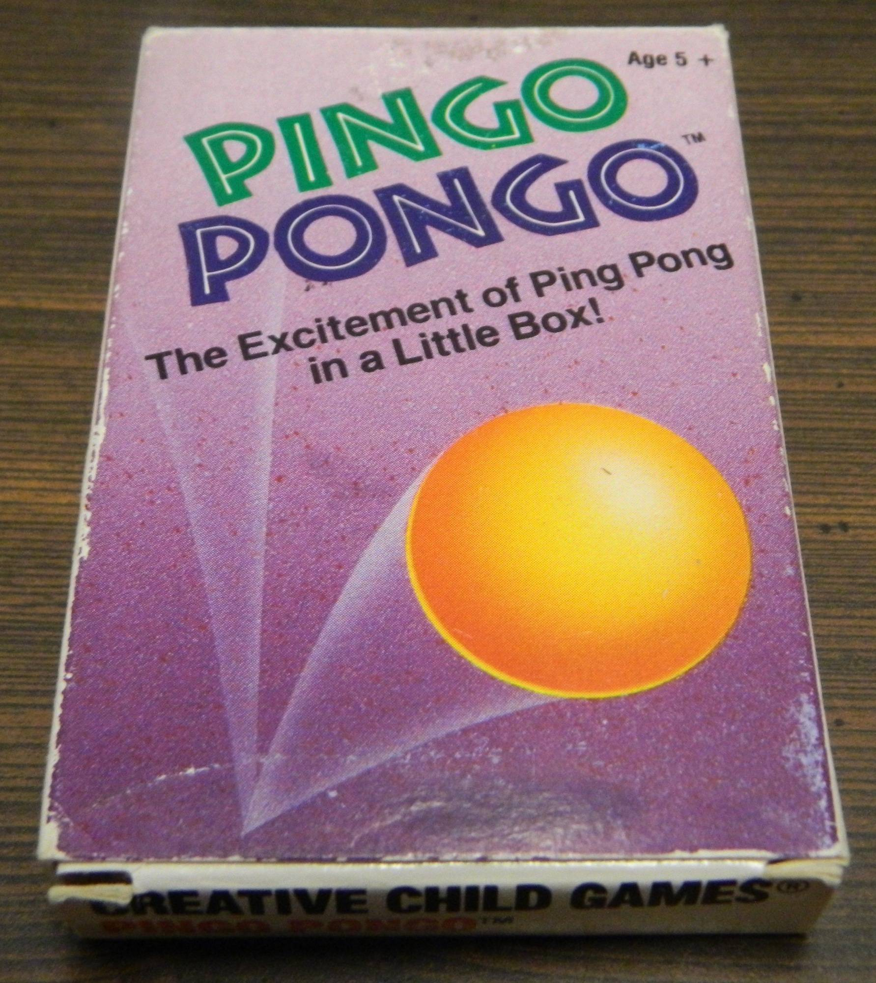 Box for Pingo Pongo