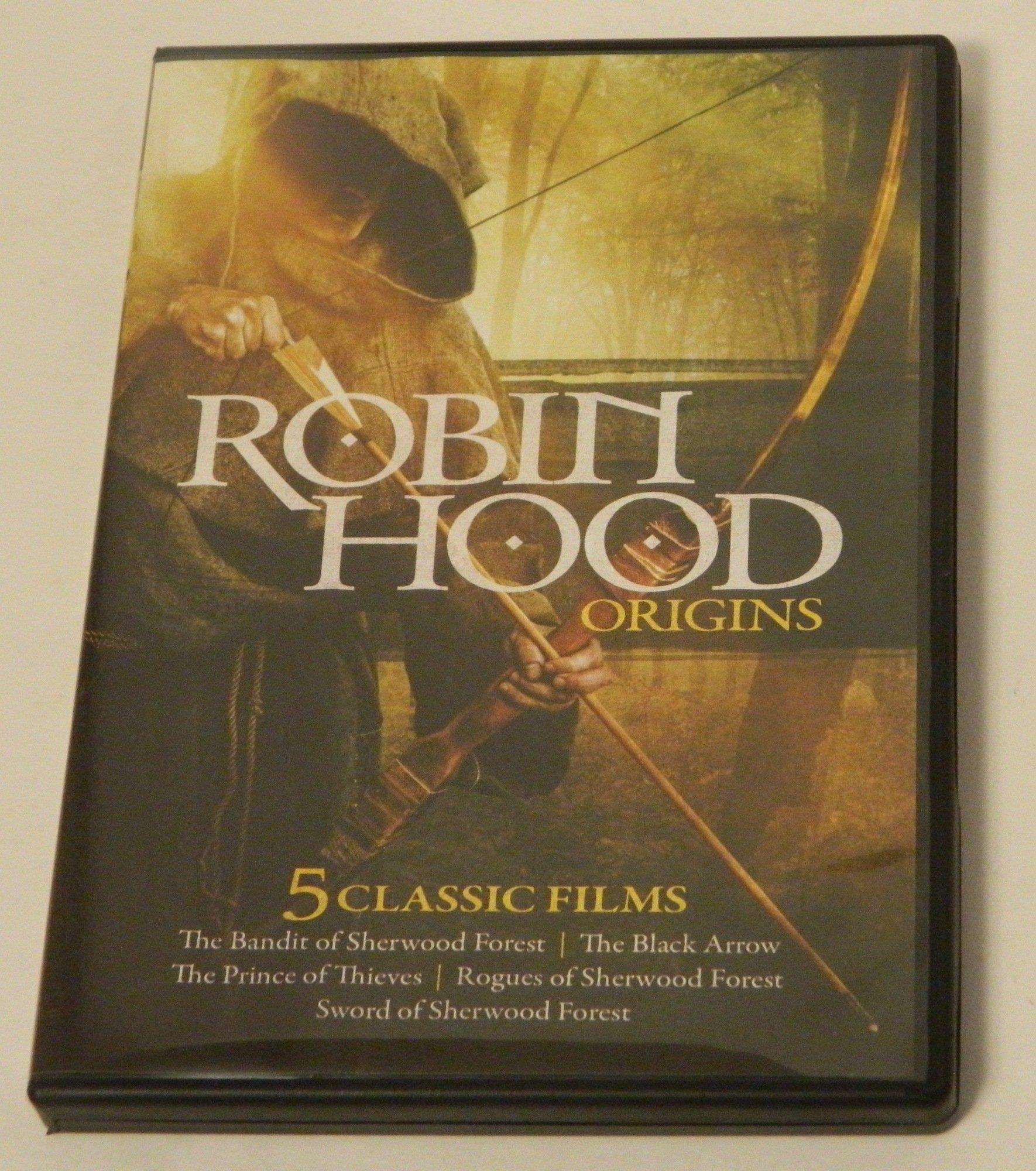 Robin Hood Origins DVD