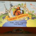 Box for Where In The World Is Carmen Sandiego? Card Game