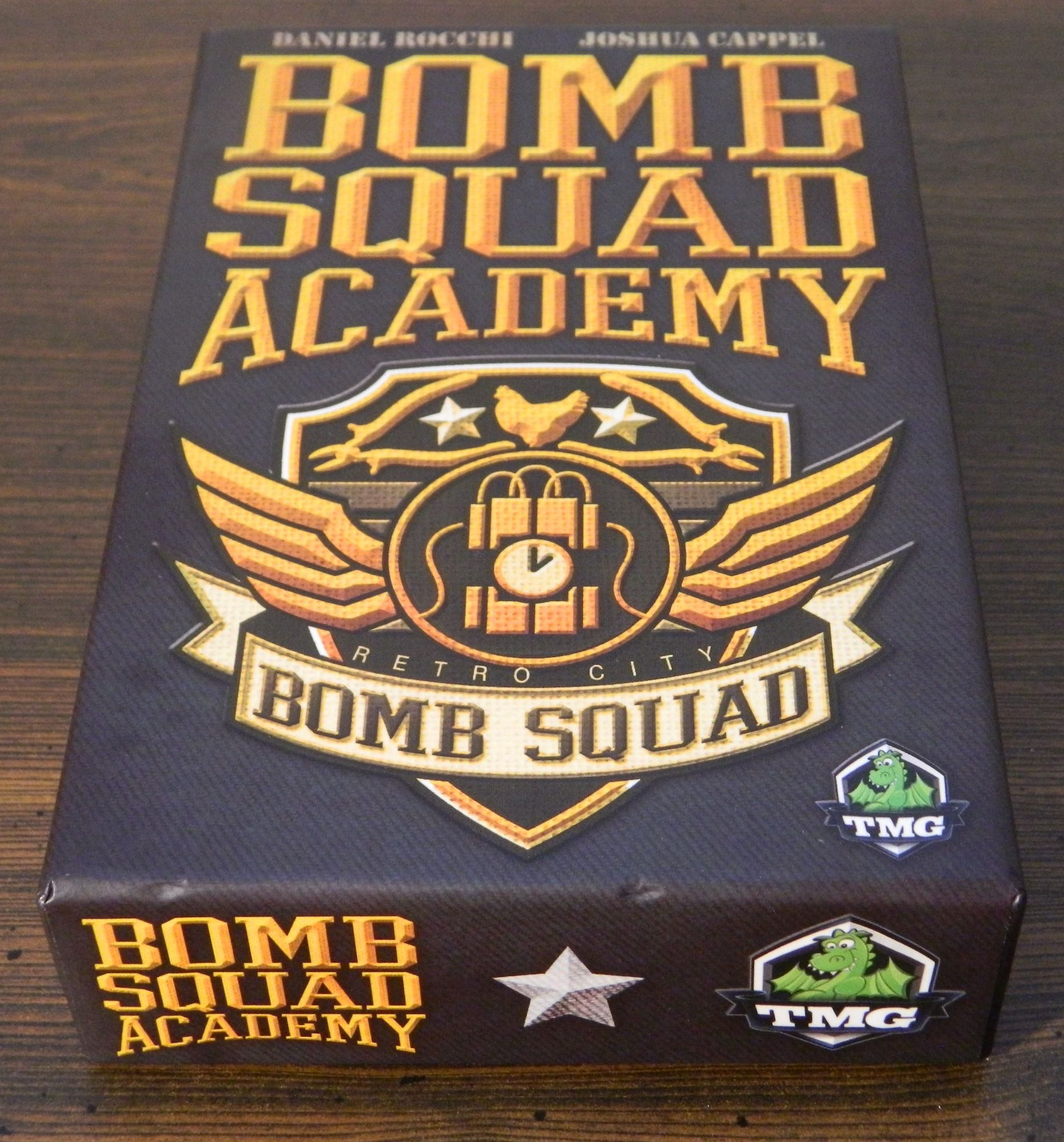 Box for Bomb Squad Academy