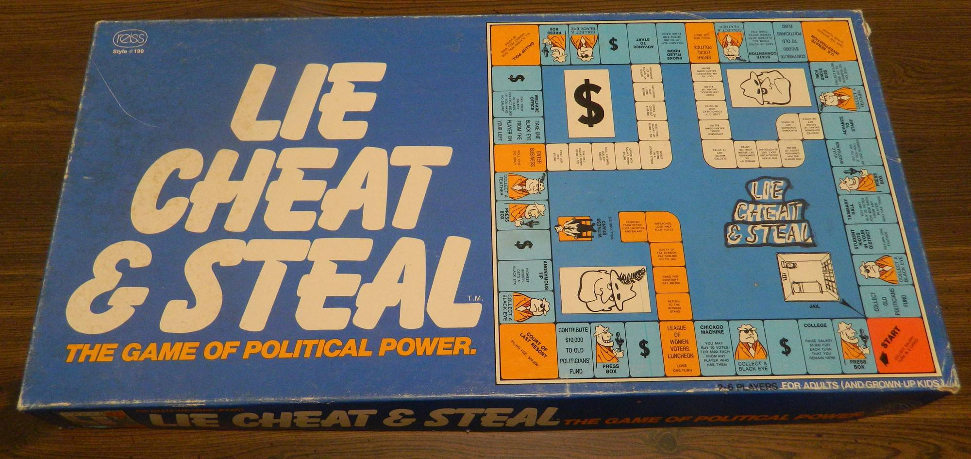 Box for Lie Cheat & Steal