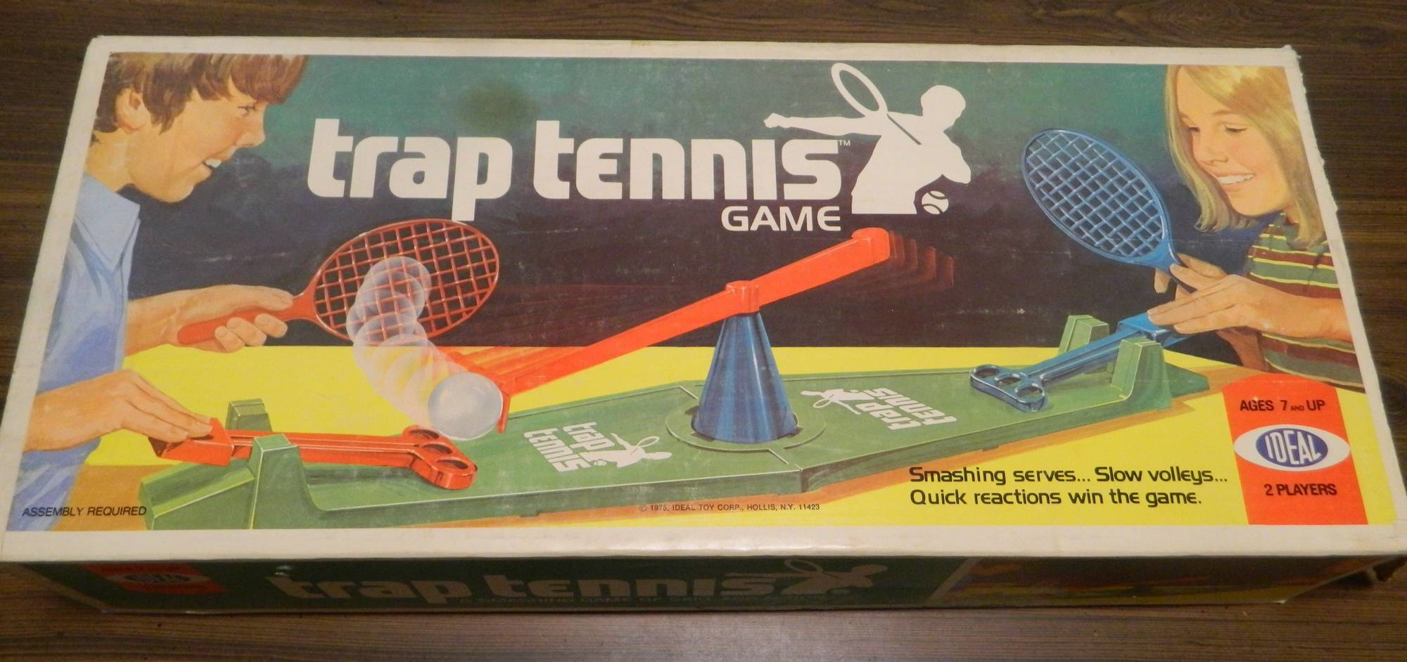 Box for Trap Tennis