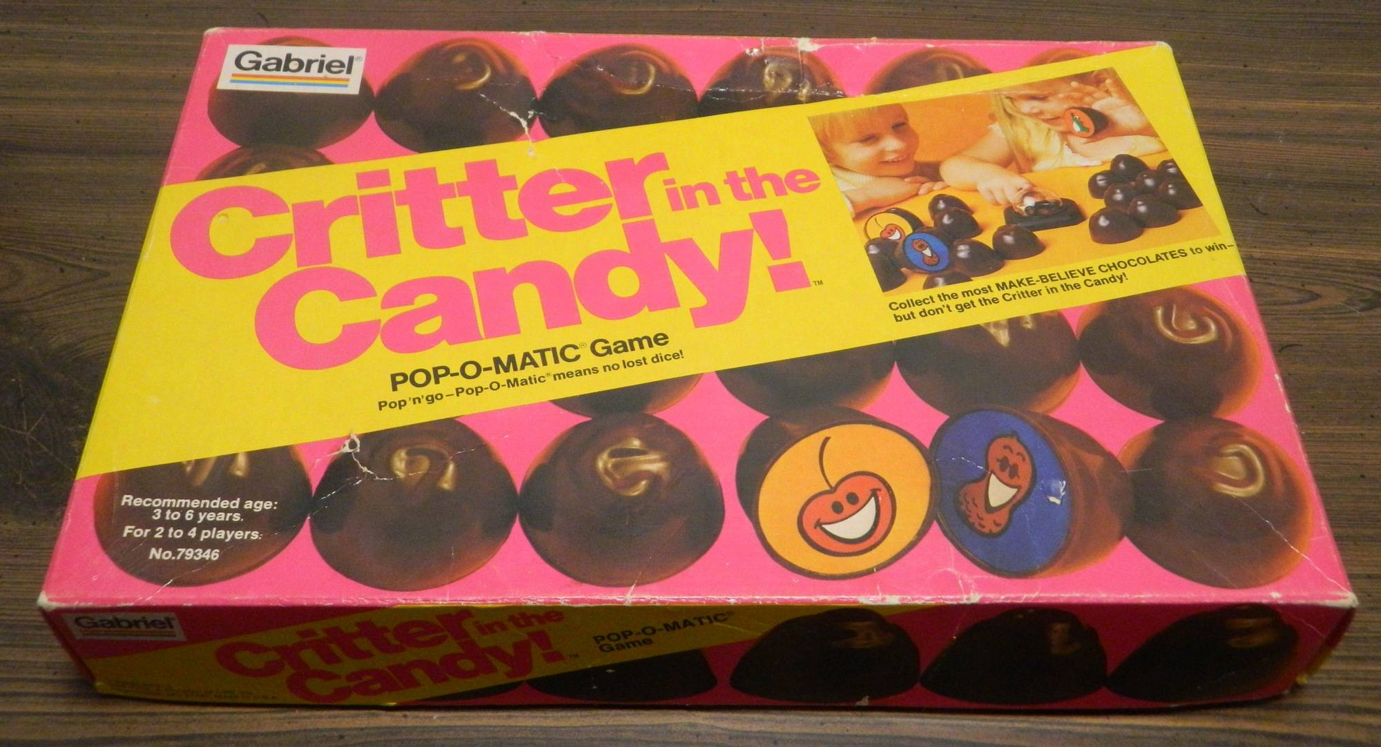 Box for Critter in the Candy