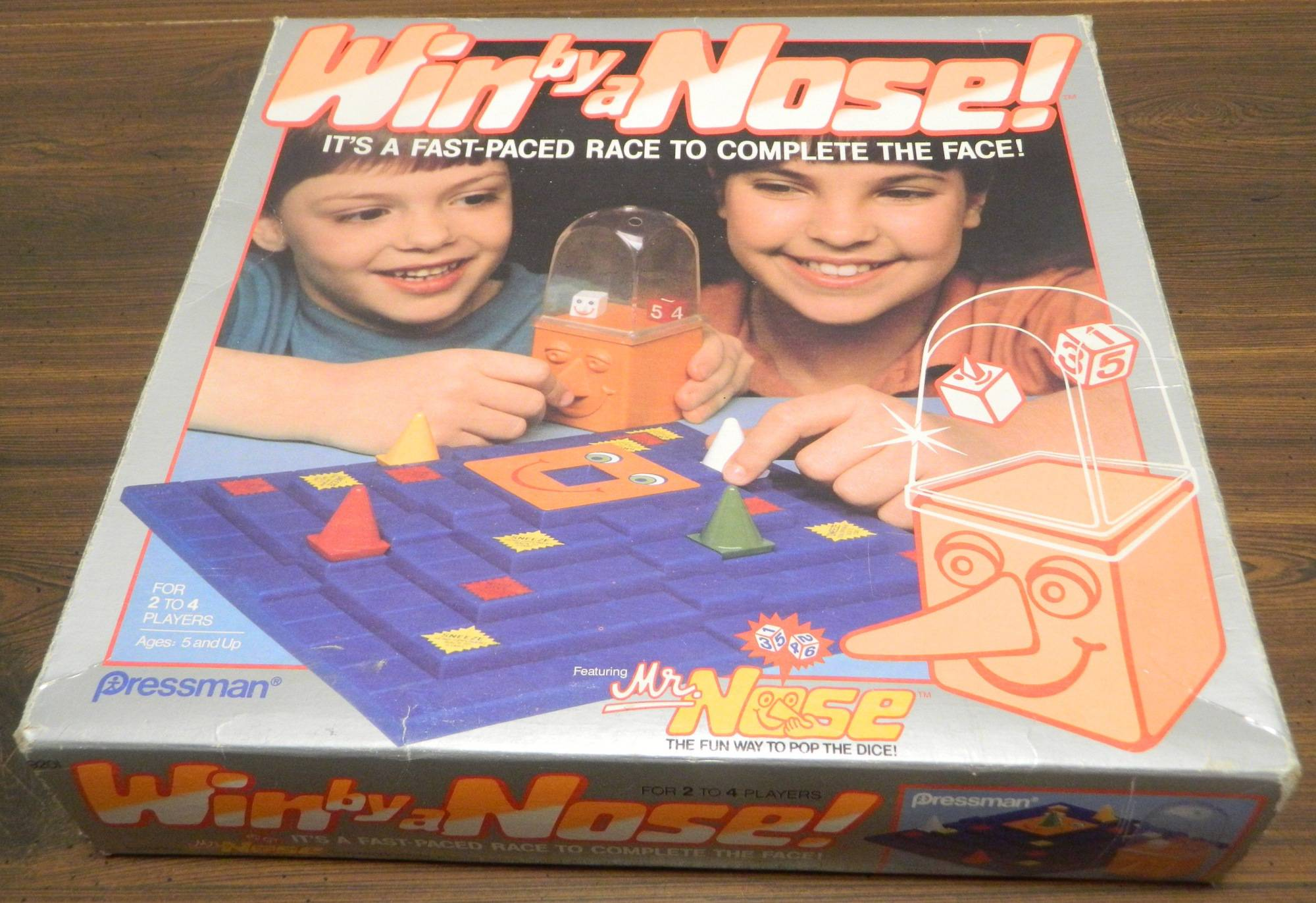 Box for Win By A Nose