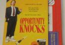 Opportunity Knocks Retro VHS Art Blu-ray