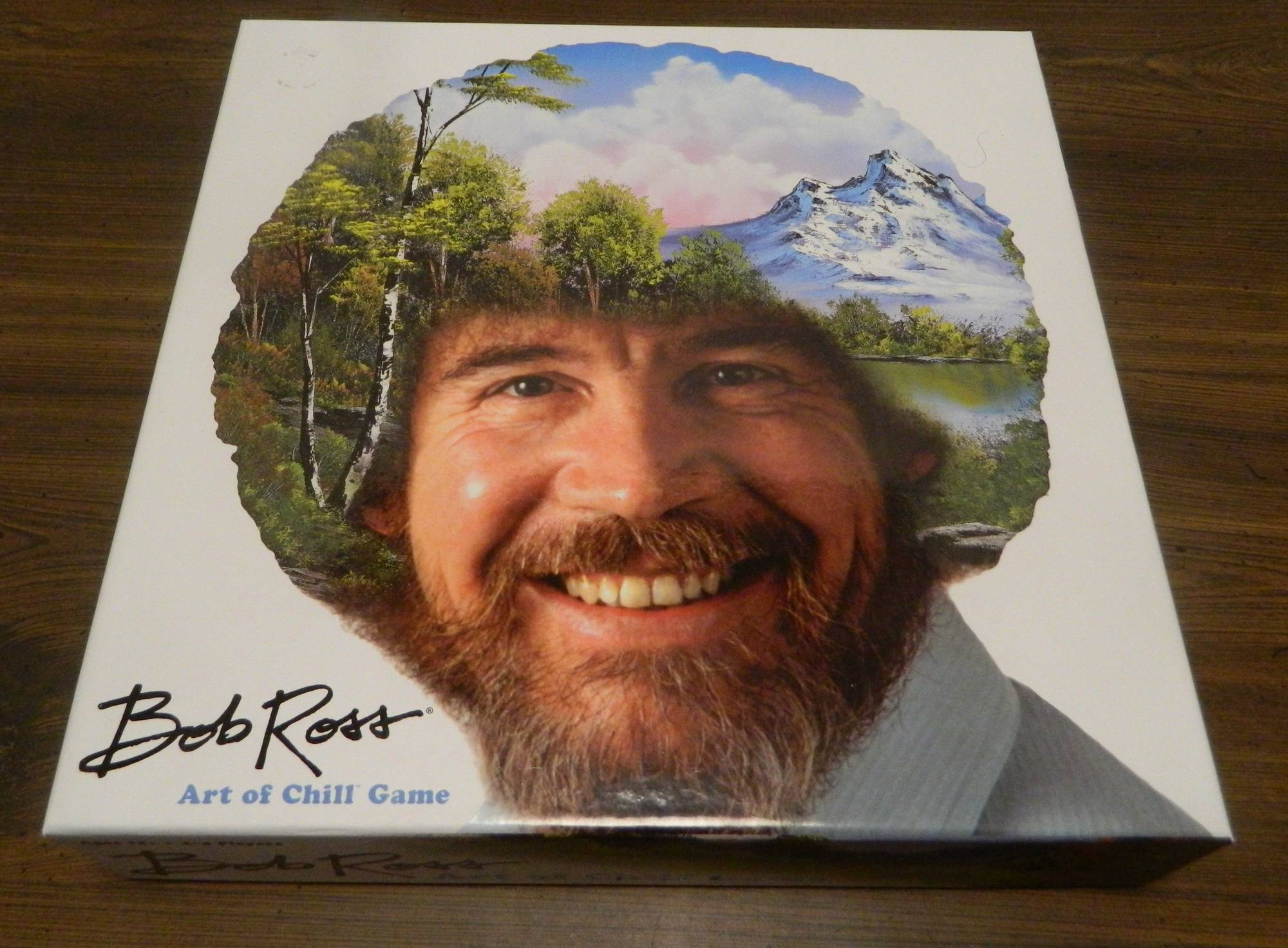 Box for Bob Ross Art of Chill