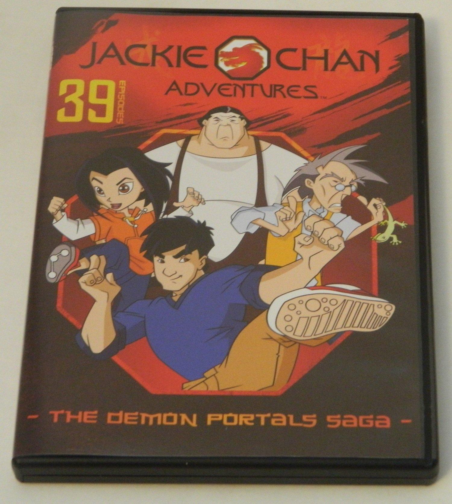 Jackie Chan Adventures The Demon Portals Saga DVD