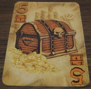 Chest Card in Dead Man's Draw