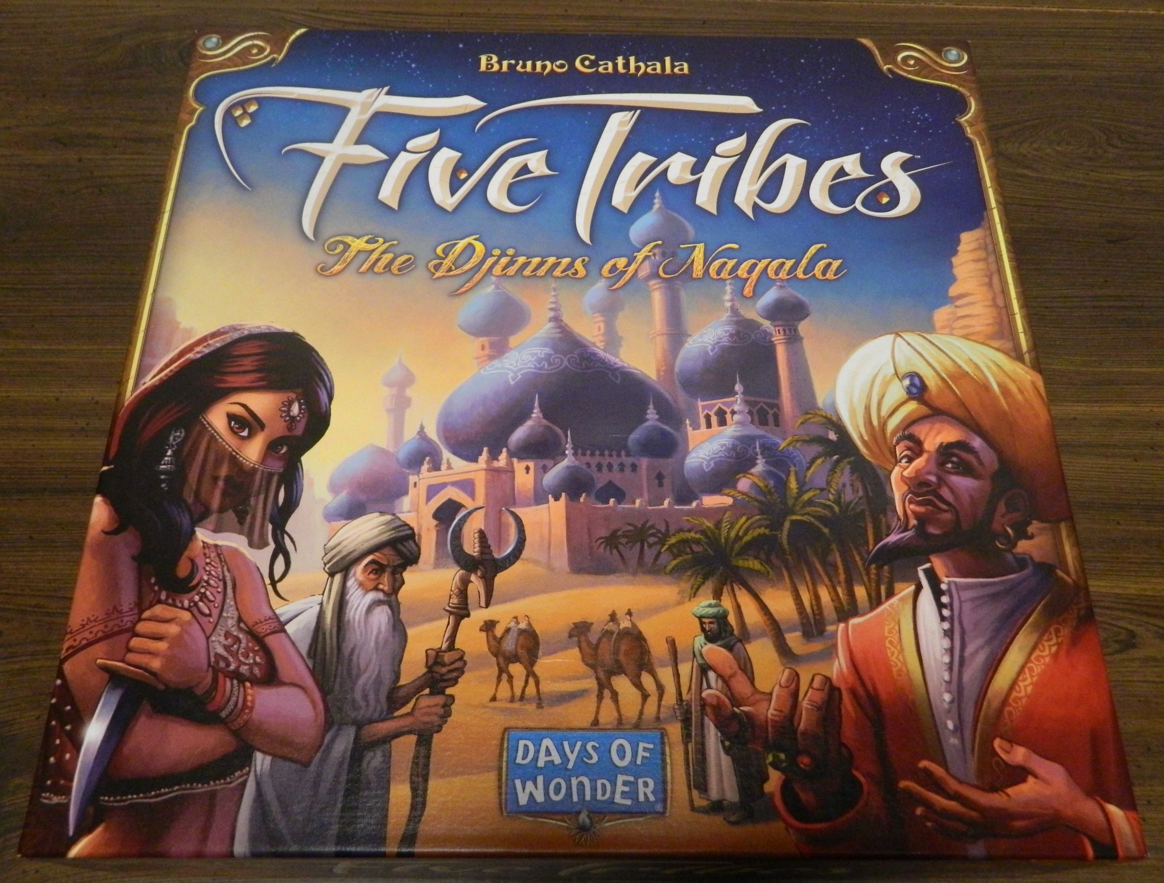 Box for Five Tribes