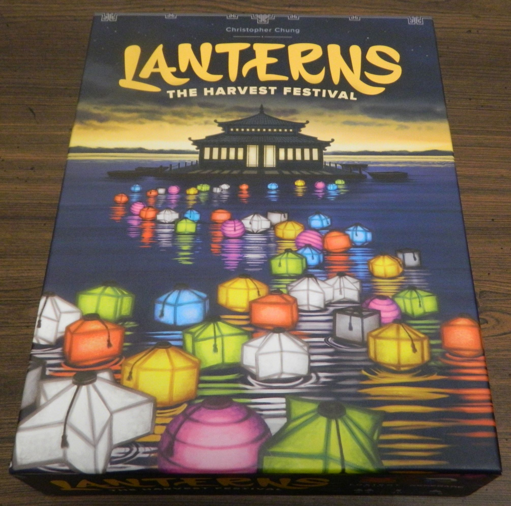 Box for Lanterns The Harvest Festival