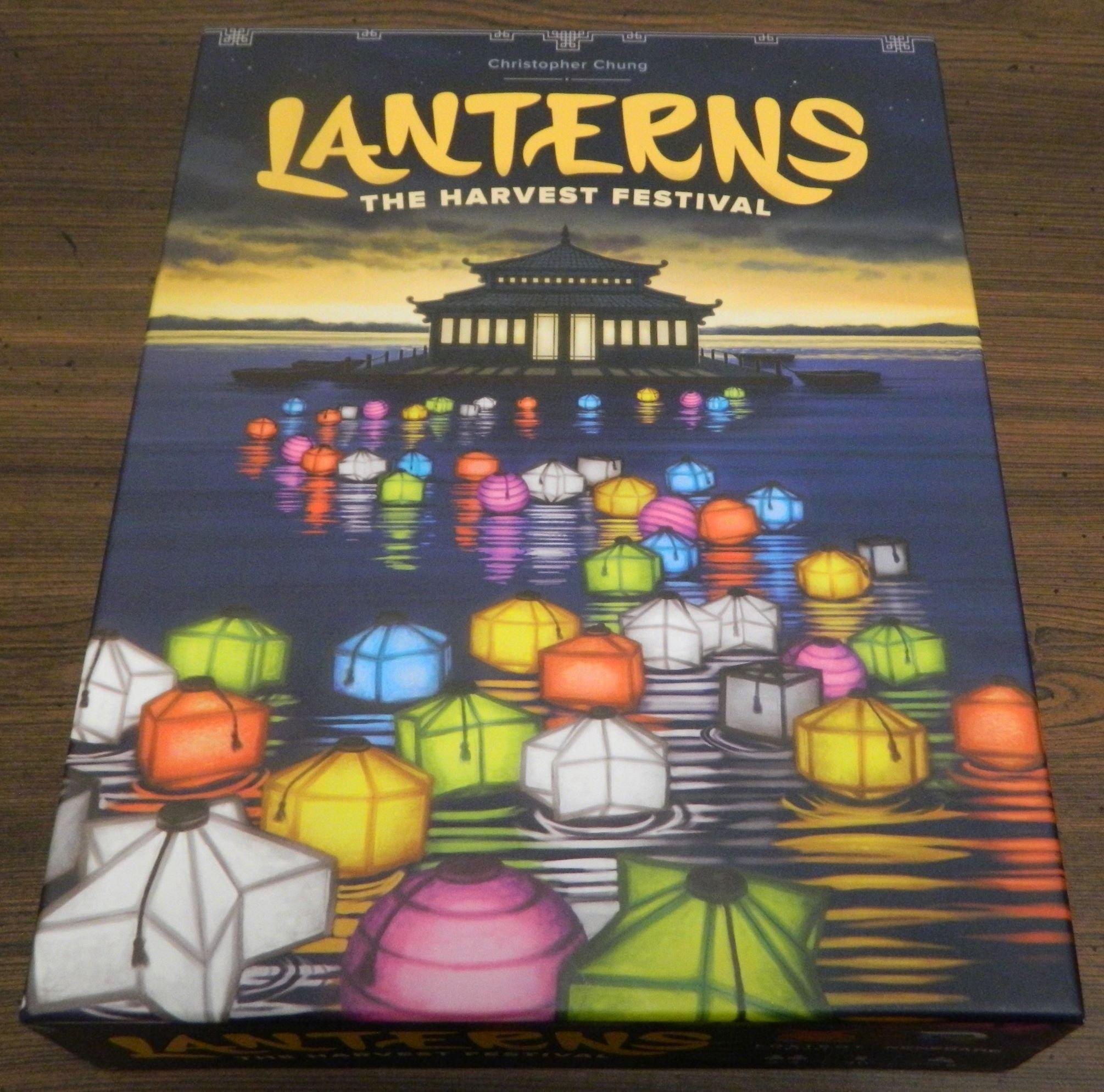 Box for Lanterns The Harvest Festival