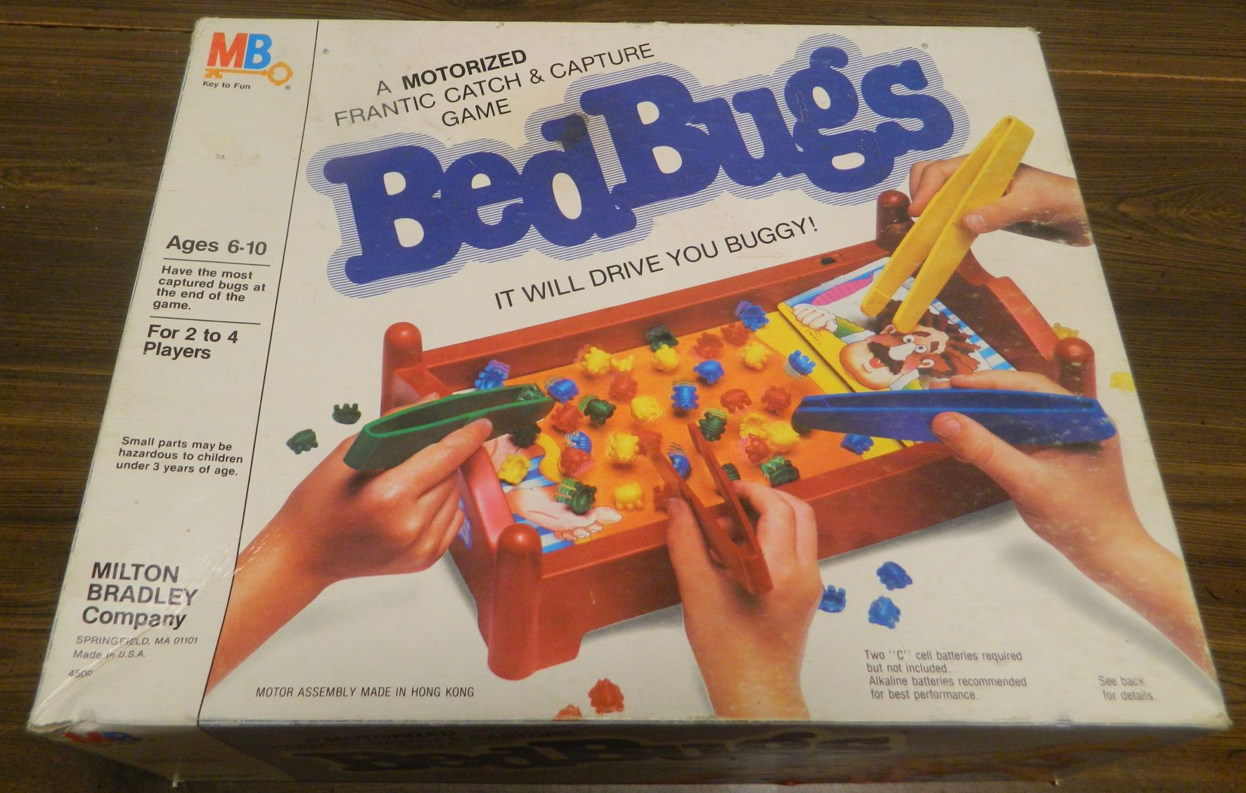 Box for Bed Bugs