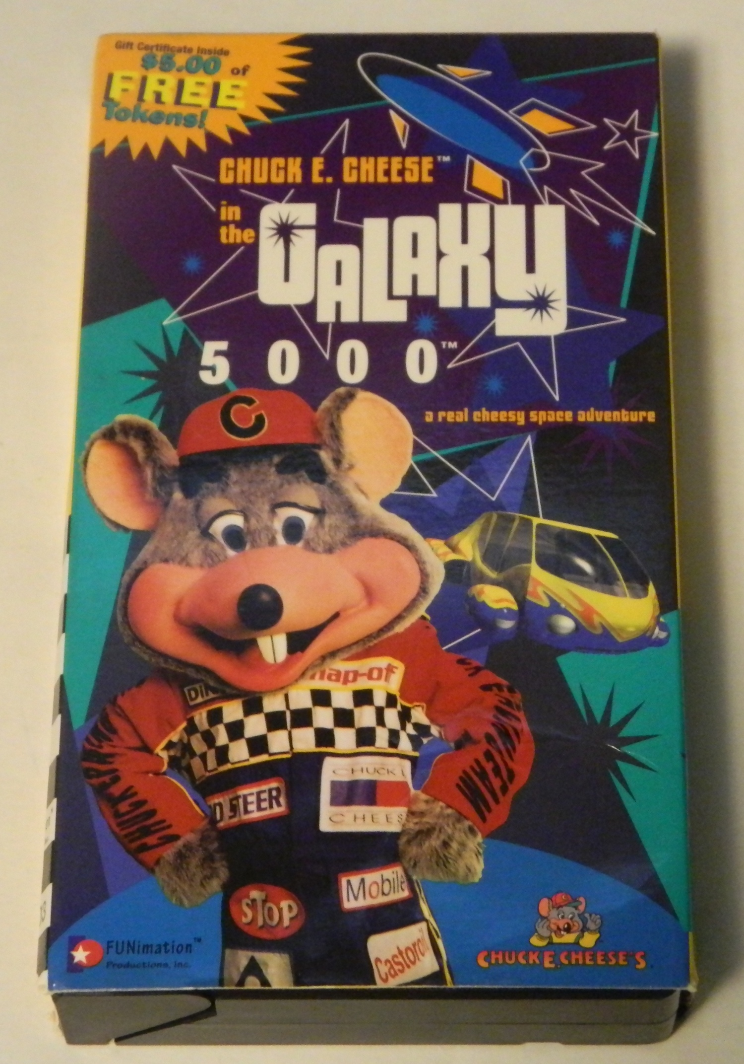Chuck E Cheese in the Galaxy 5000 VHS