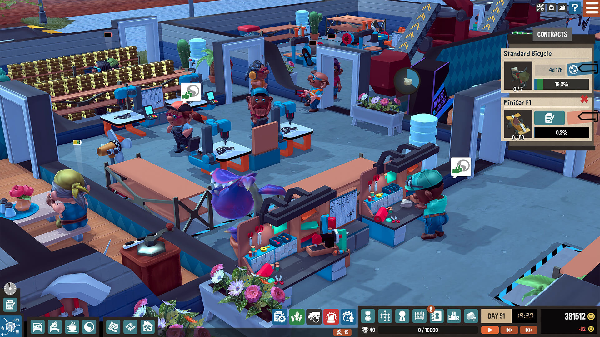 Little Big Workshop Screenshot