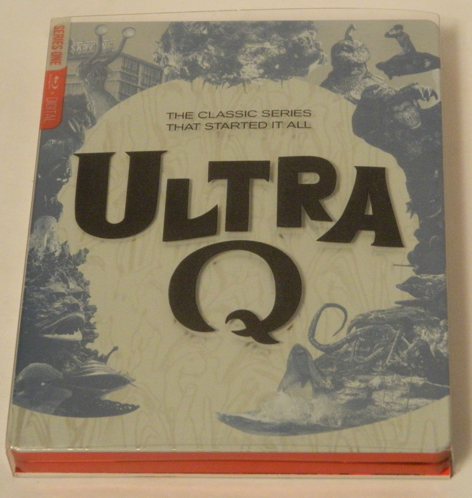 Ultra Q The Complete Series SteelBook Edition Blu-ray